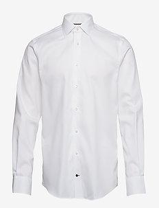 DOBBY CLASSIC SHIRT - BRIGHT WHITE