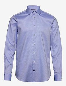 DOBBY FLEX COLLAR SL - basic skjorter - thcobalt/white