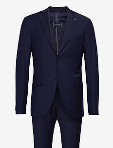 FLEX SOLID SLIM FIT BS SUIT - suits - space blue