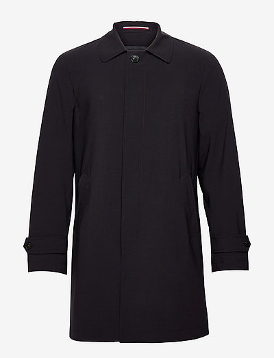 MAN TRENCH - trench coats - blue