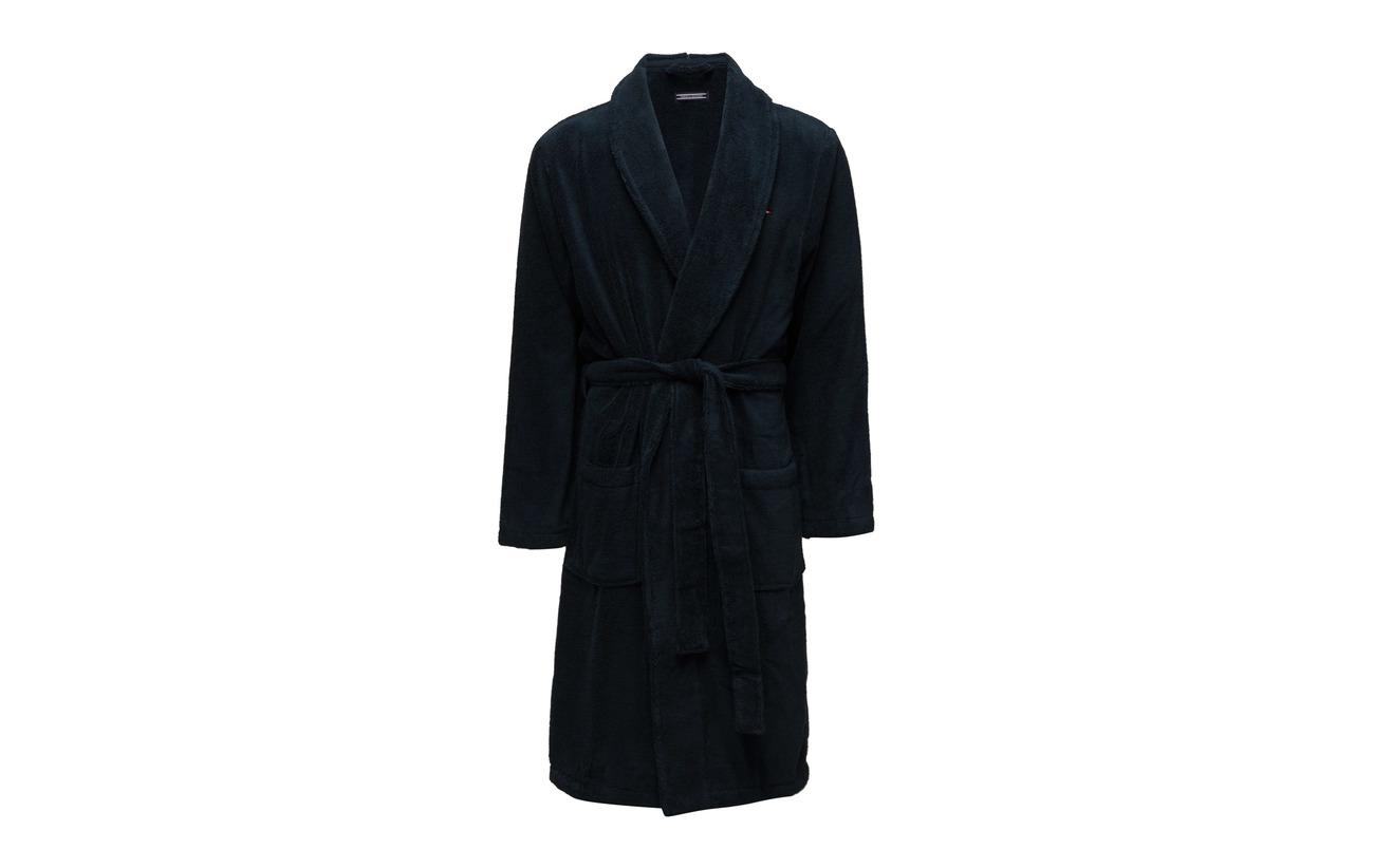 Tommy Hilfiger Icon bathrobe - NAVY BLAZER-PT