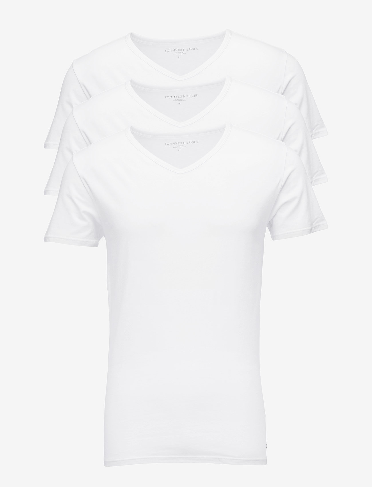 Tommy Hilfiger - STRETCH VN TEE SS 3PACK - multipack - white - 0