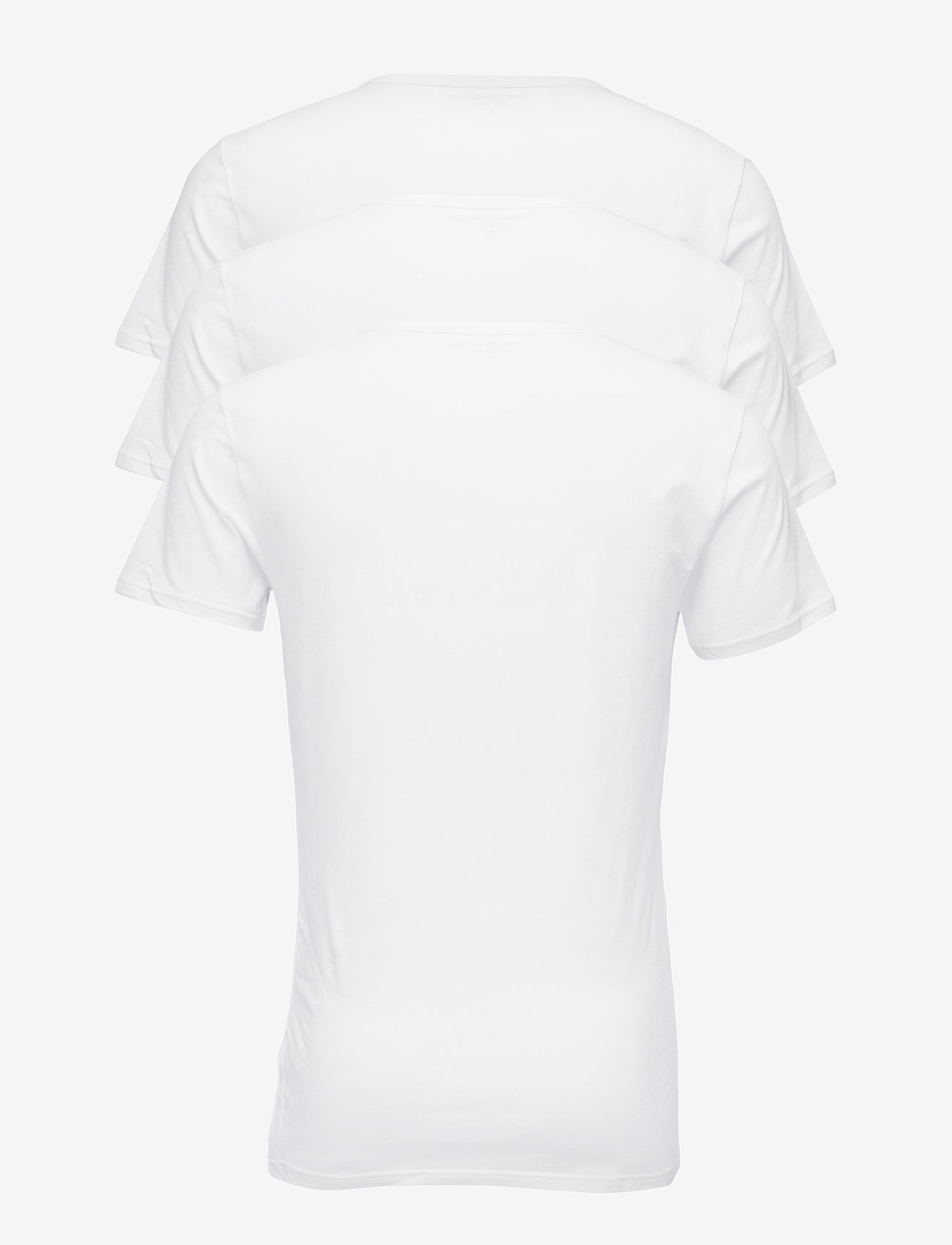 Tommy Hilfiger Vn Tee Ss 3 Pack Pre - T-shirts White