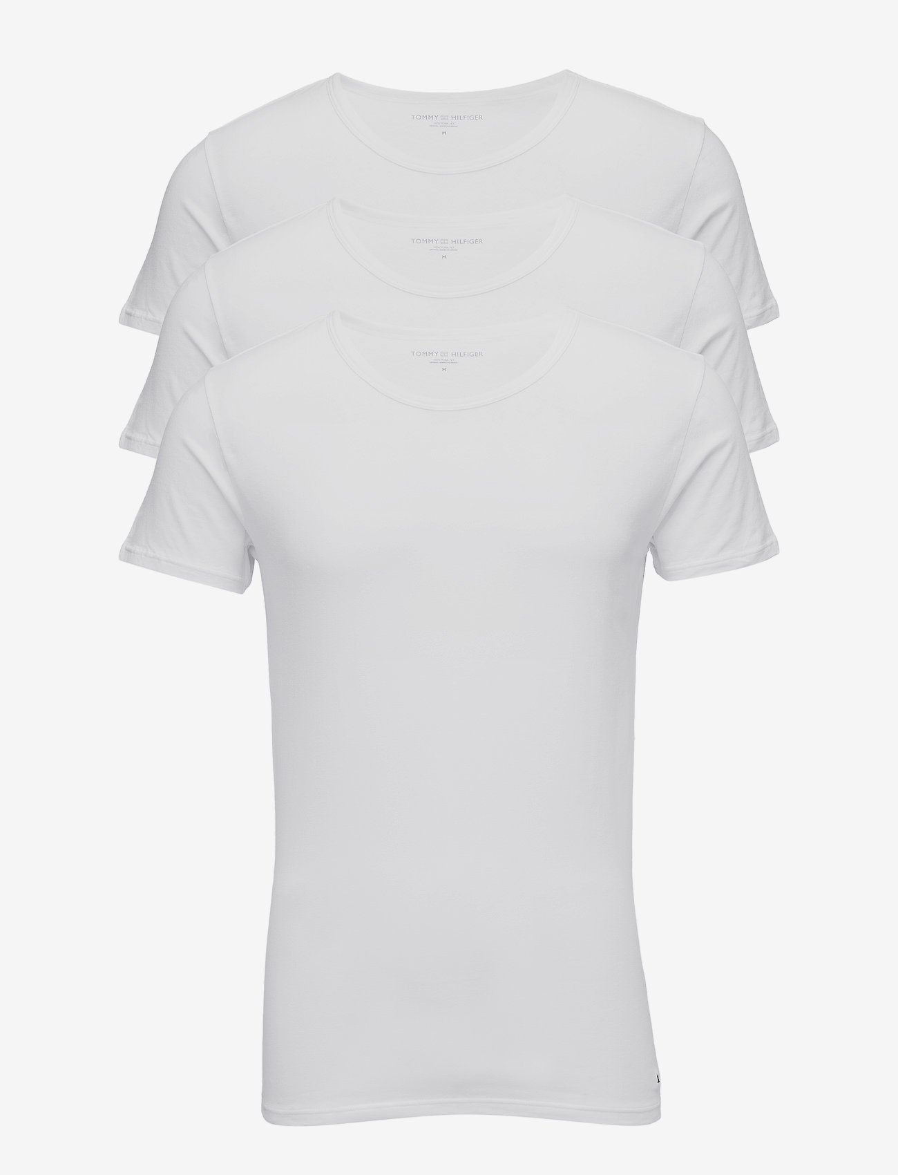 Tommy Hilfiger - STRETCH CN TEE SS 3PACK - multipack - white - 0