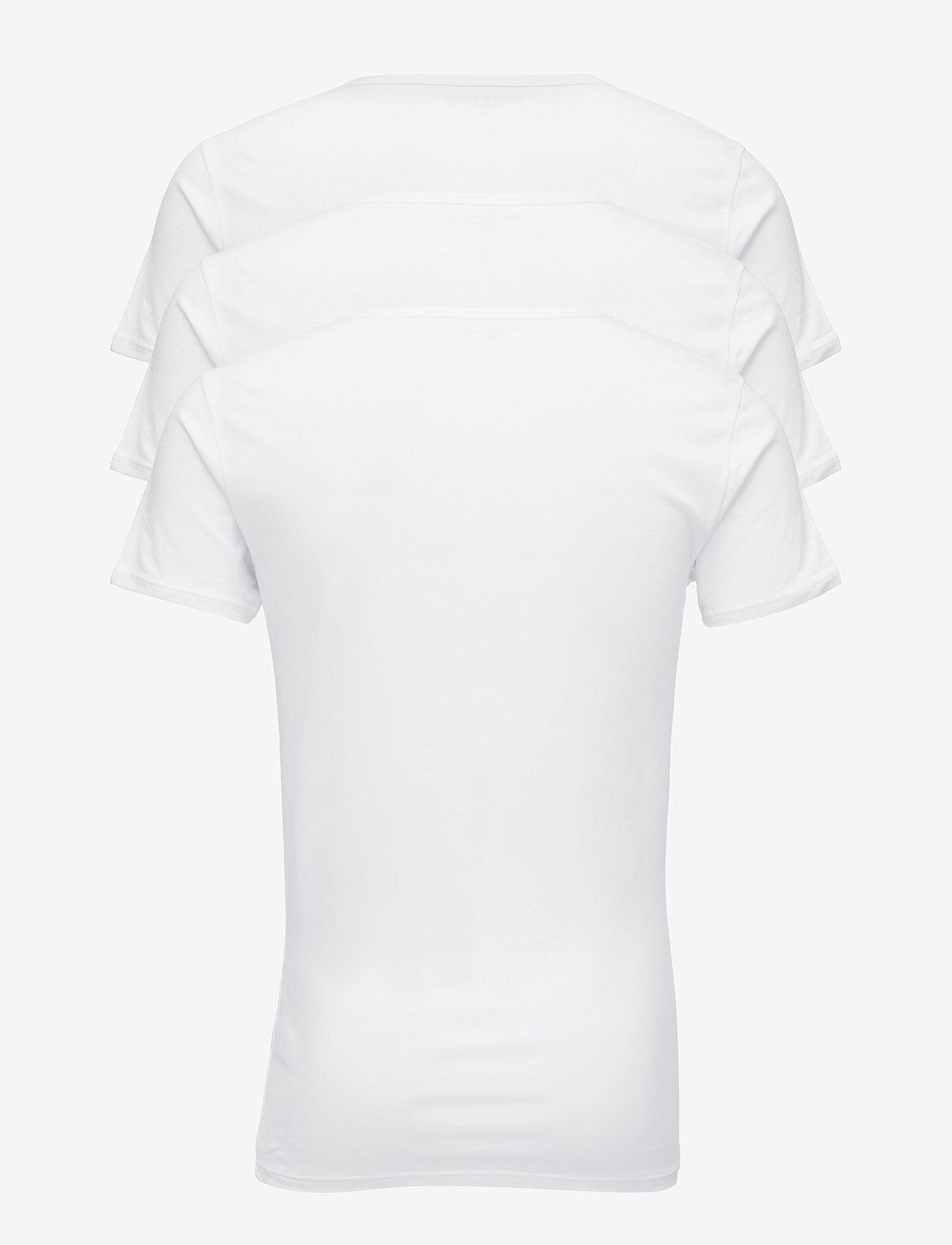 Tommy Hilfiger - STRETCH CN TEE SS 3PACK - multipack - white - 1