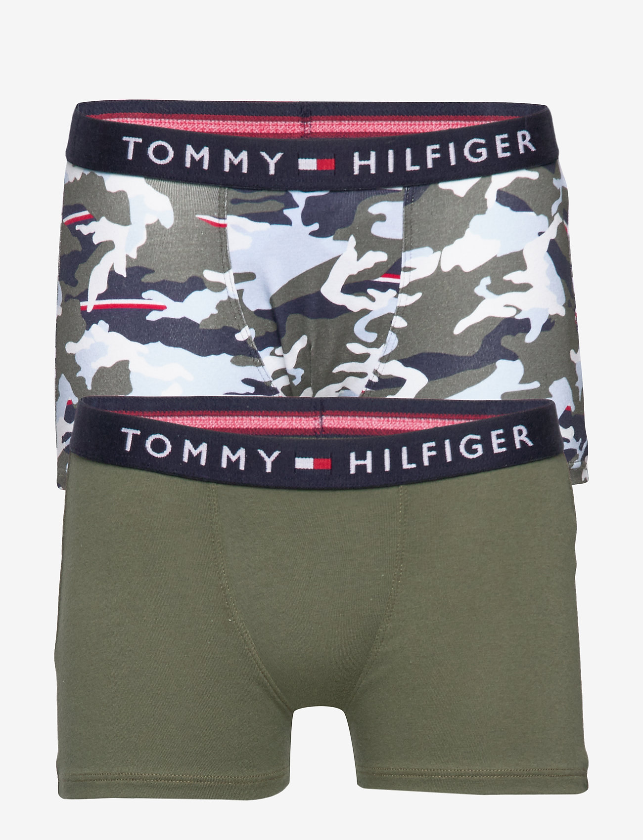 Tommy Hilfiger - 2P TRUNK PRINT - bottoms - ag/tennis/stripe/aop/country c