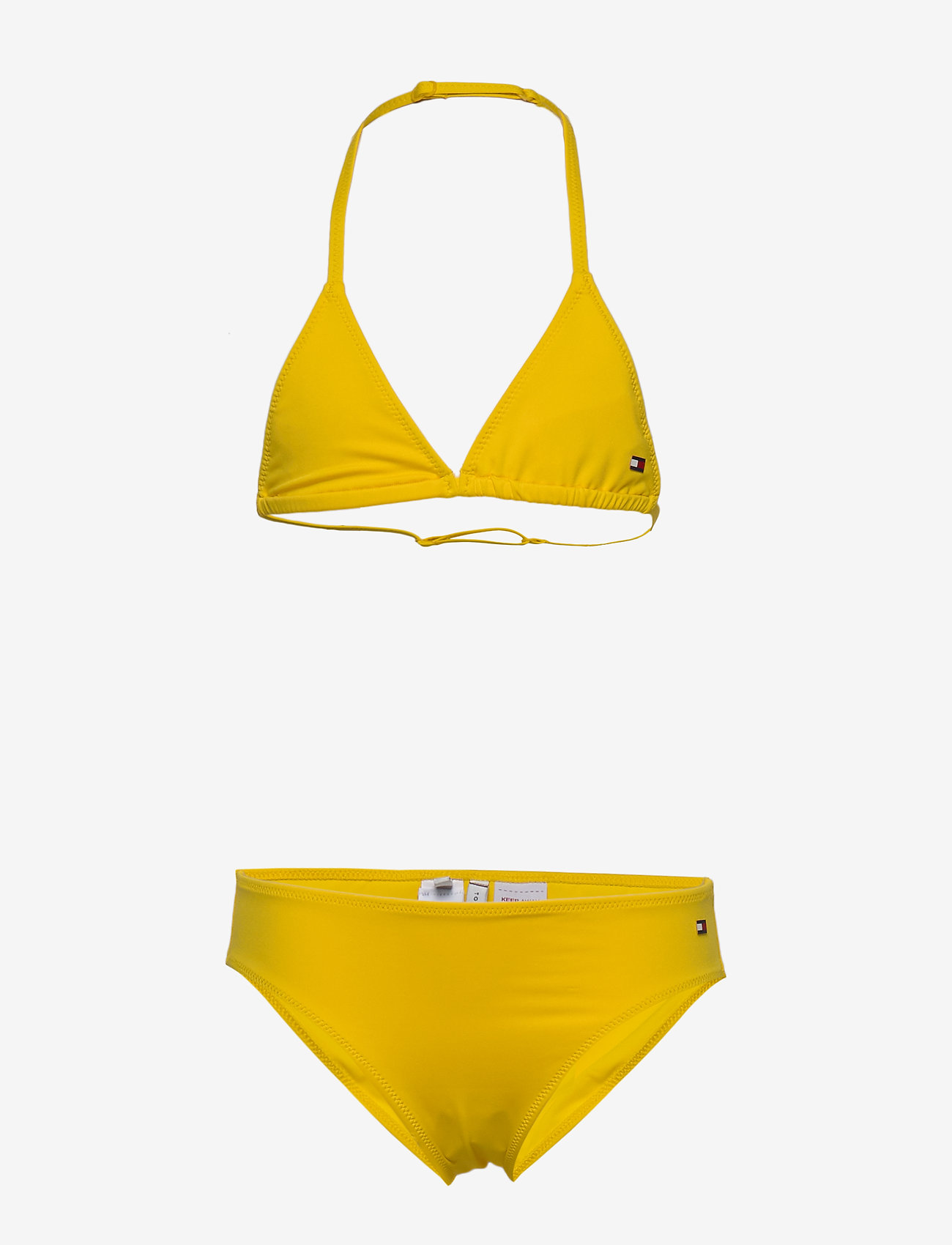 Tommy Hilfiger - TRIANGLE SET - bielizna komplet - bold yellow - 0