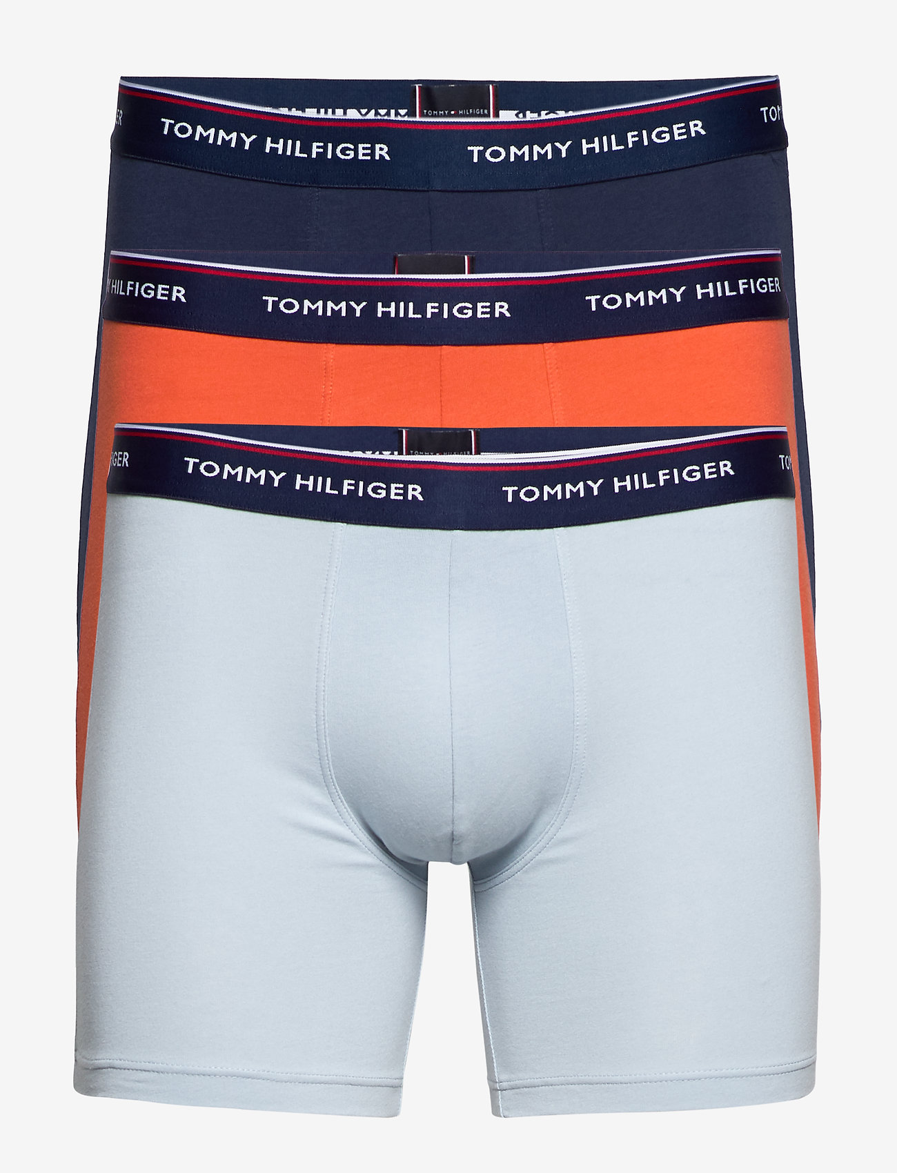 Tommy Hilfiger - 3P BOXER BRIEF - undertøy - blue fog/chili/peacoat