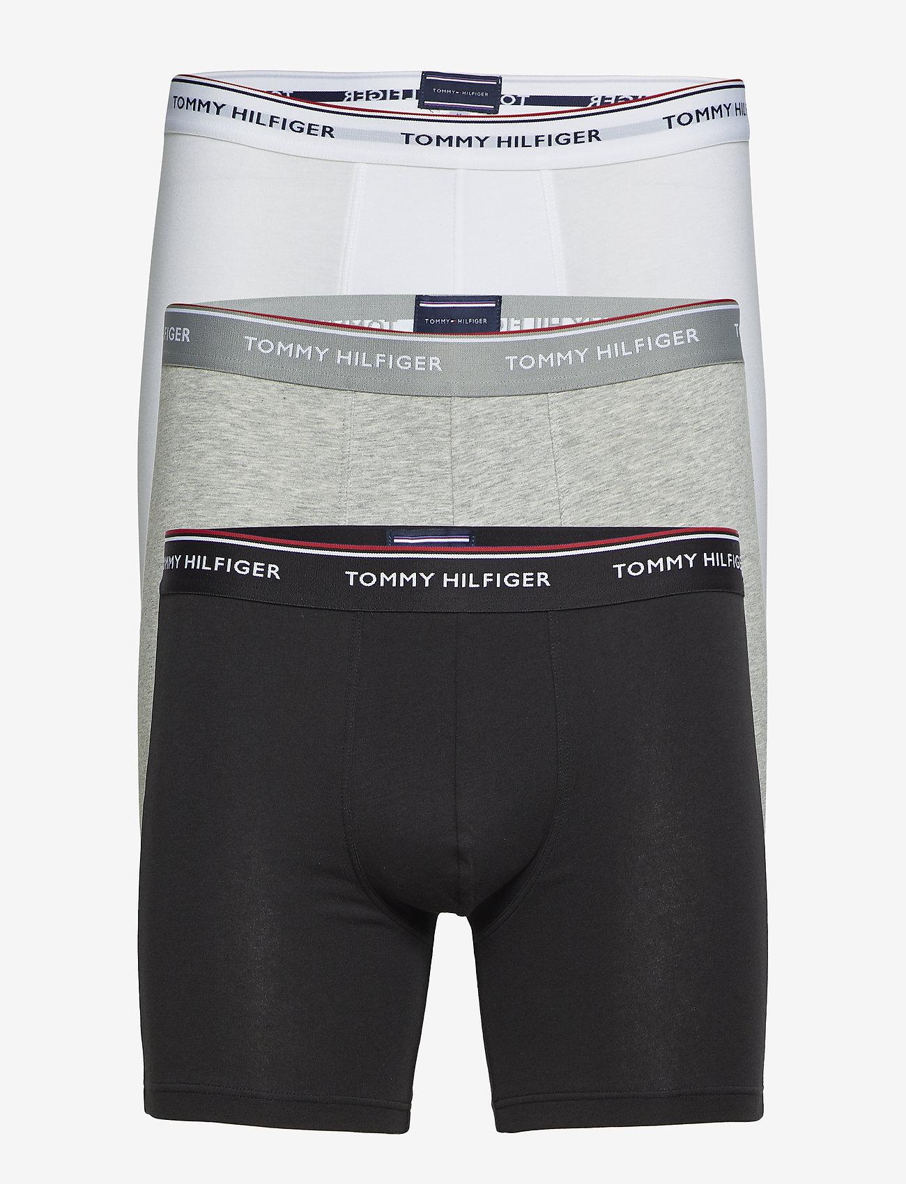 Tommy Hilfiger - 3P BOXER BRIEF - boxershortser - grey heather - 0
