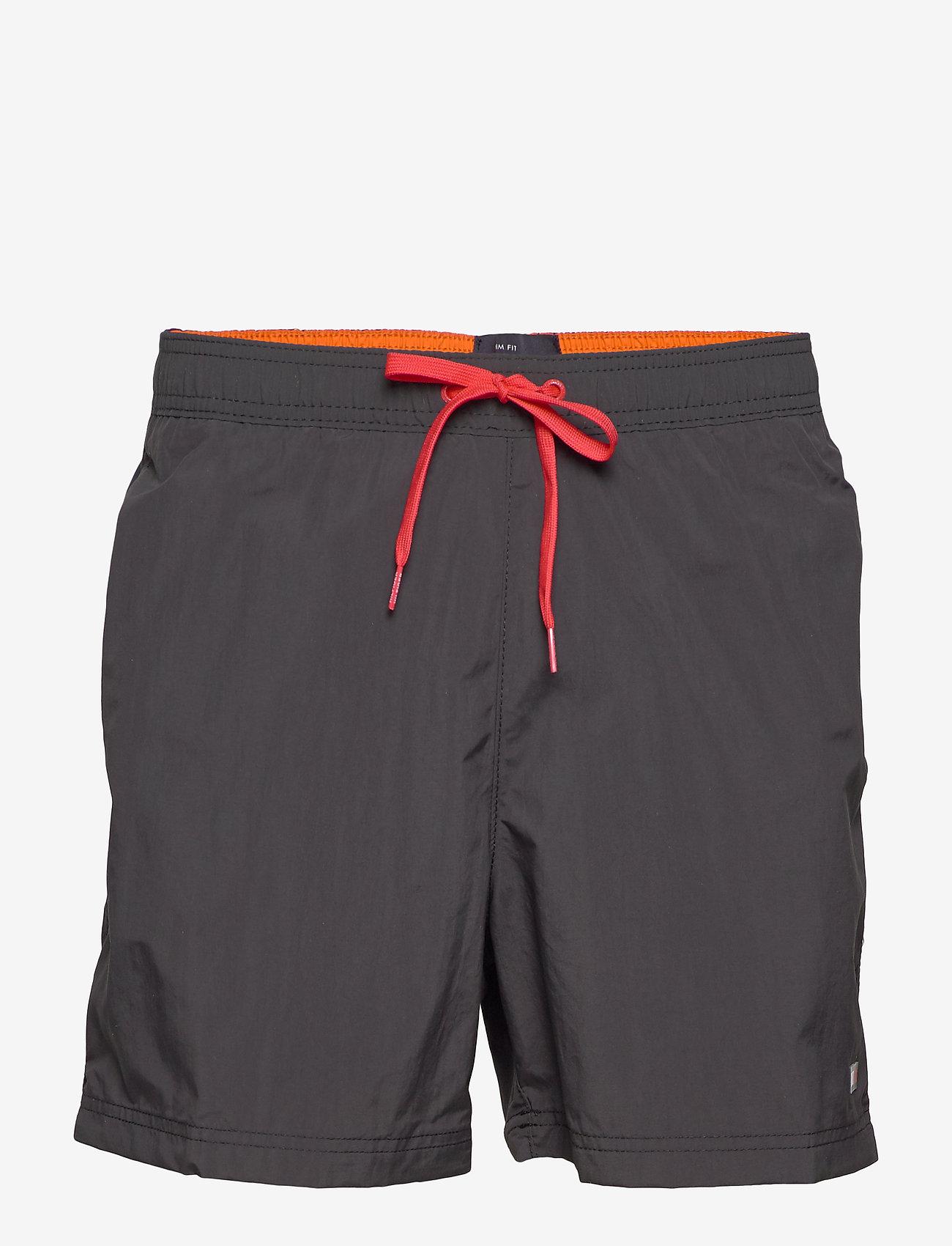 Tommy Hilfiger - SF MEDIUM DRAWSTRING - swim shorts - pvh black - 0