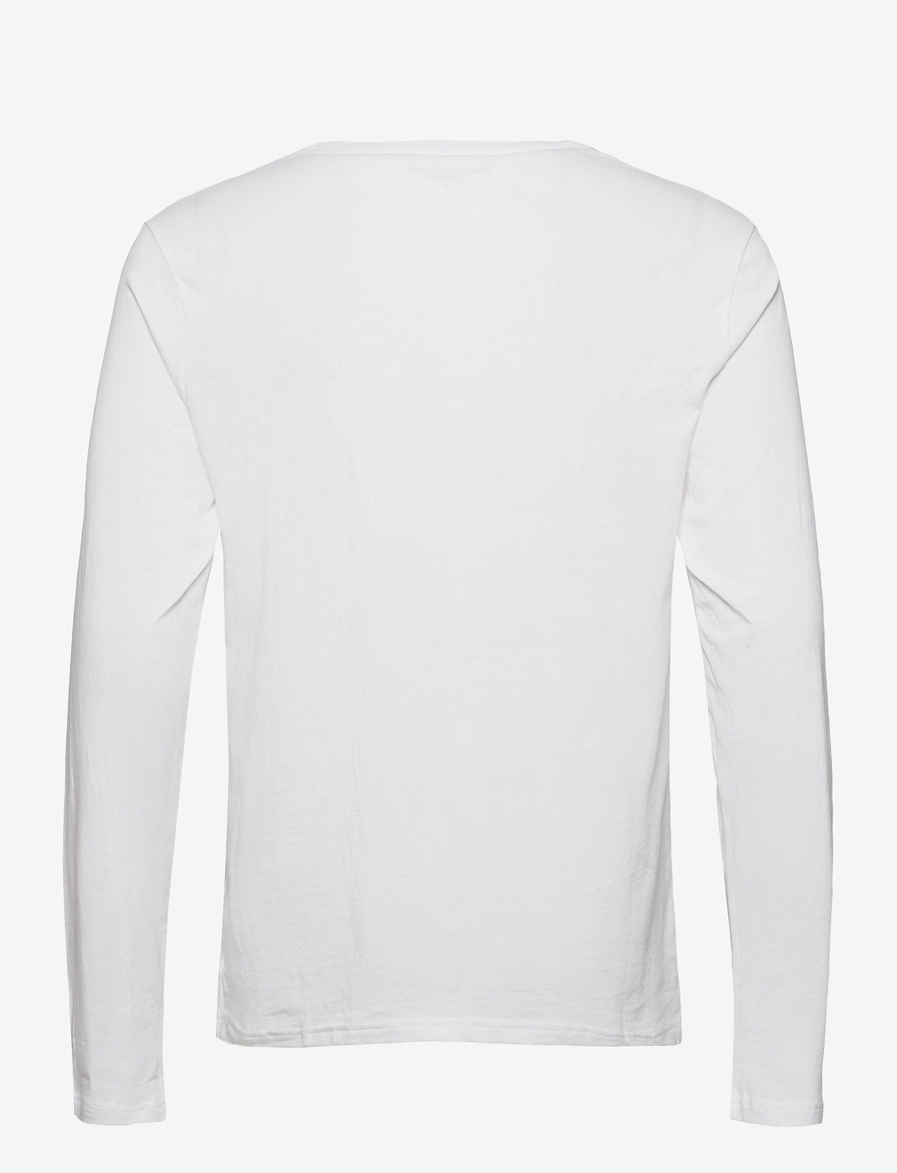 Tommy Hilfiger - CN LS TEE LOGO - long-sleeved t-shirts - white - 1