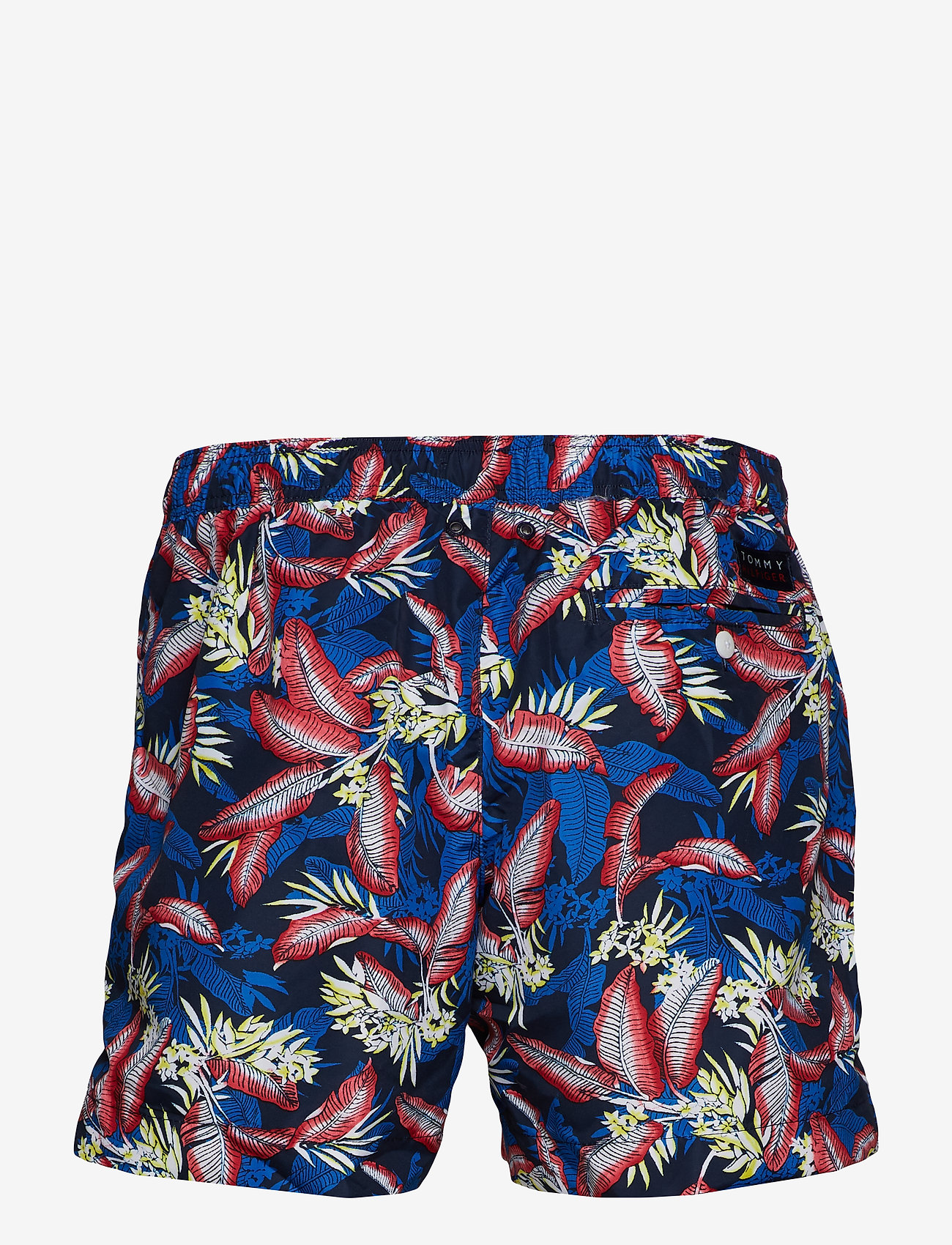 Tommy Hilfiger - MEDIUM DRAWSTRING, 6 - swim shorts - tropic leaf navy blazer - 1