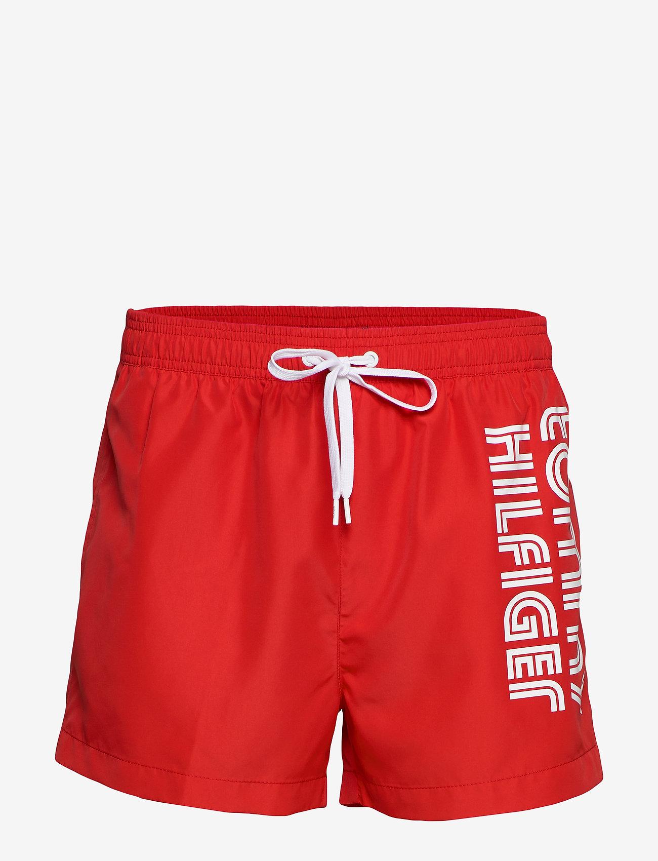 Tommy Hilfiger - SHORT DRAWSTRING - swim shorts - red glare - 0
