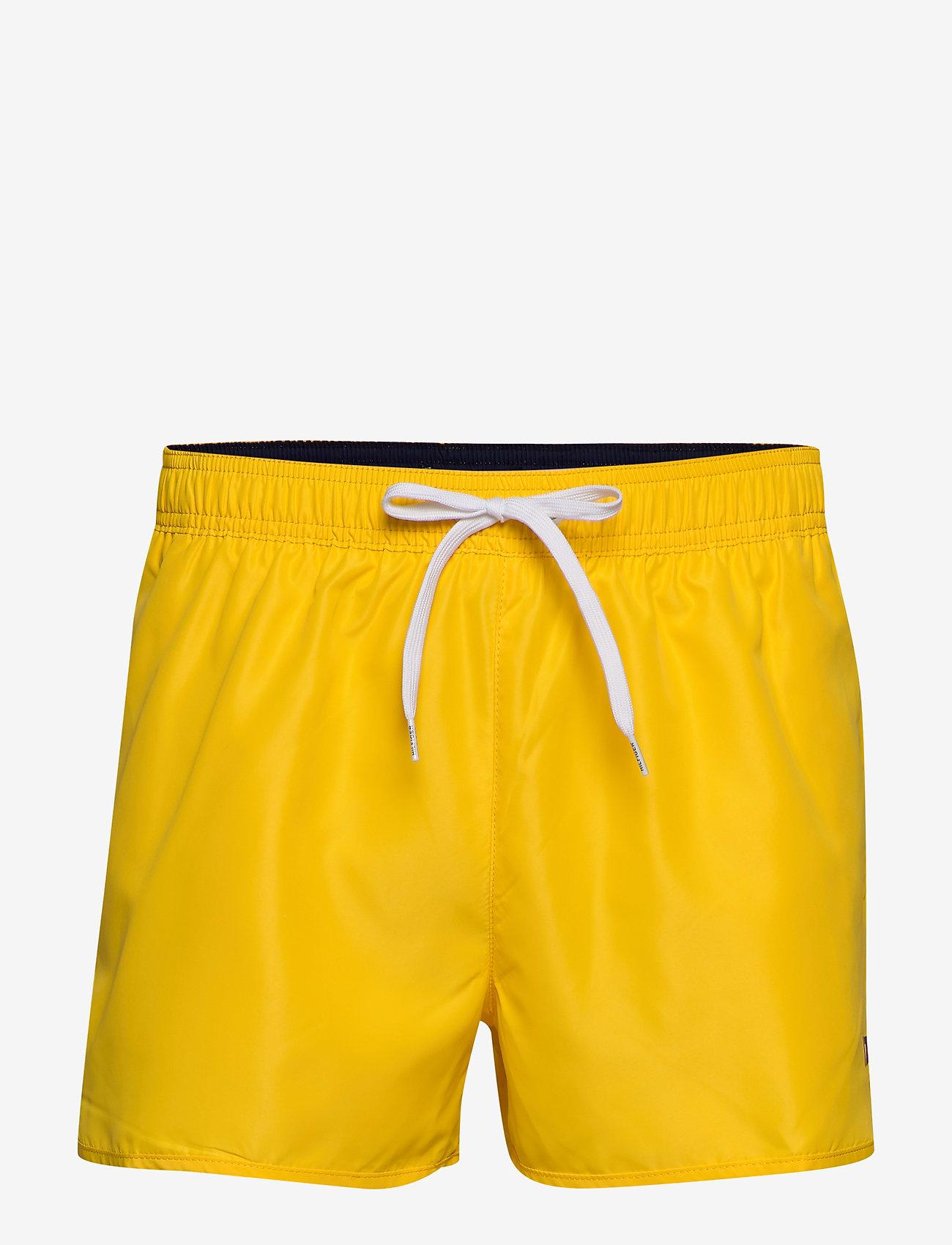 Tommy Hilfiger - RUNNER - swim shorts - bold yellow - 0