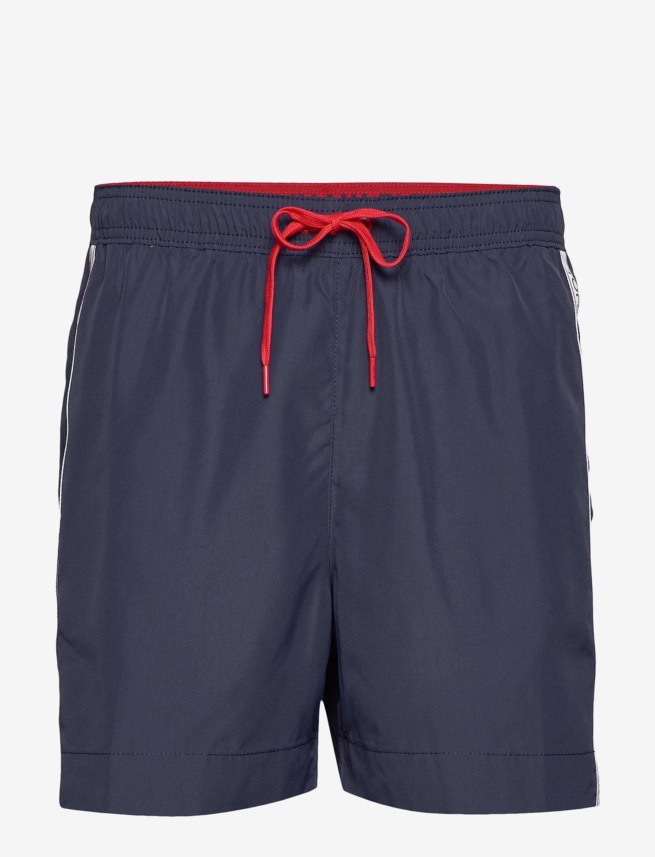 Tommy Hilfiger - MEDIUM DRAWSTRING - swim shorts - pitch blue - 0