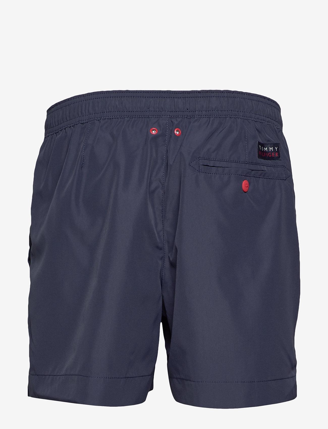 Tommy Hilfiger - MEDIUM DRAWSTRING - shorts de bain - pitch blue - 1