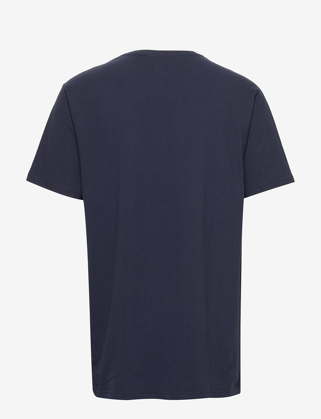 Tommy Hilfiger - HENLEY SS TEE CREST - basic t-shirts - navy blazer - 1