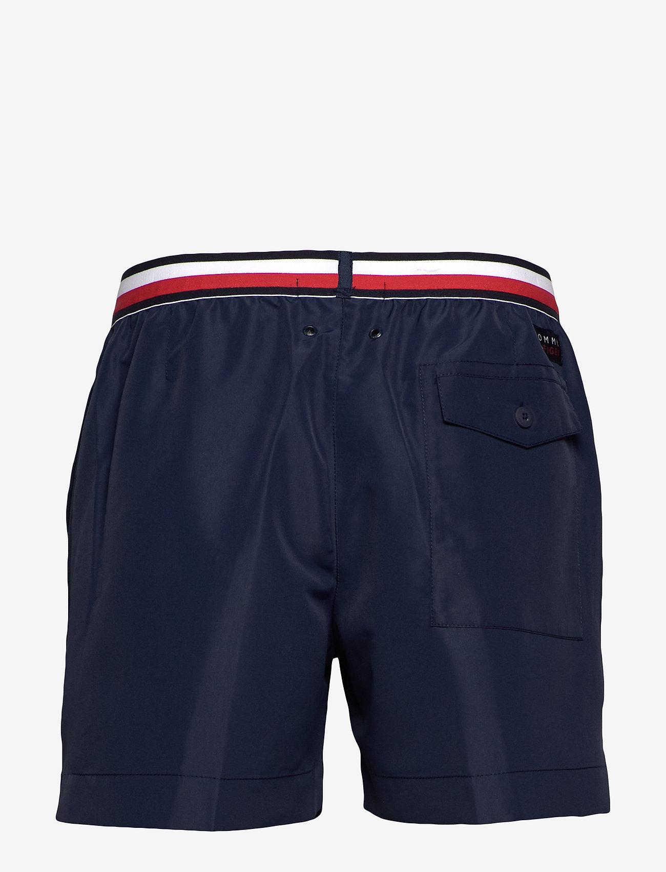 Tommy Hilfiger Medium Drawstring - Badkläder Pitch Blue 654-870
