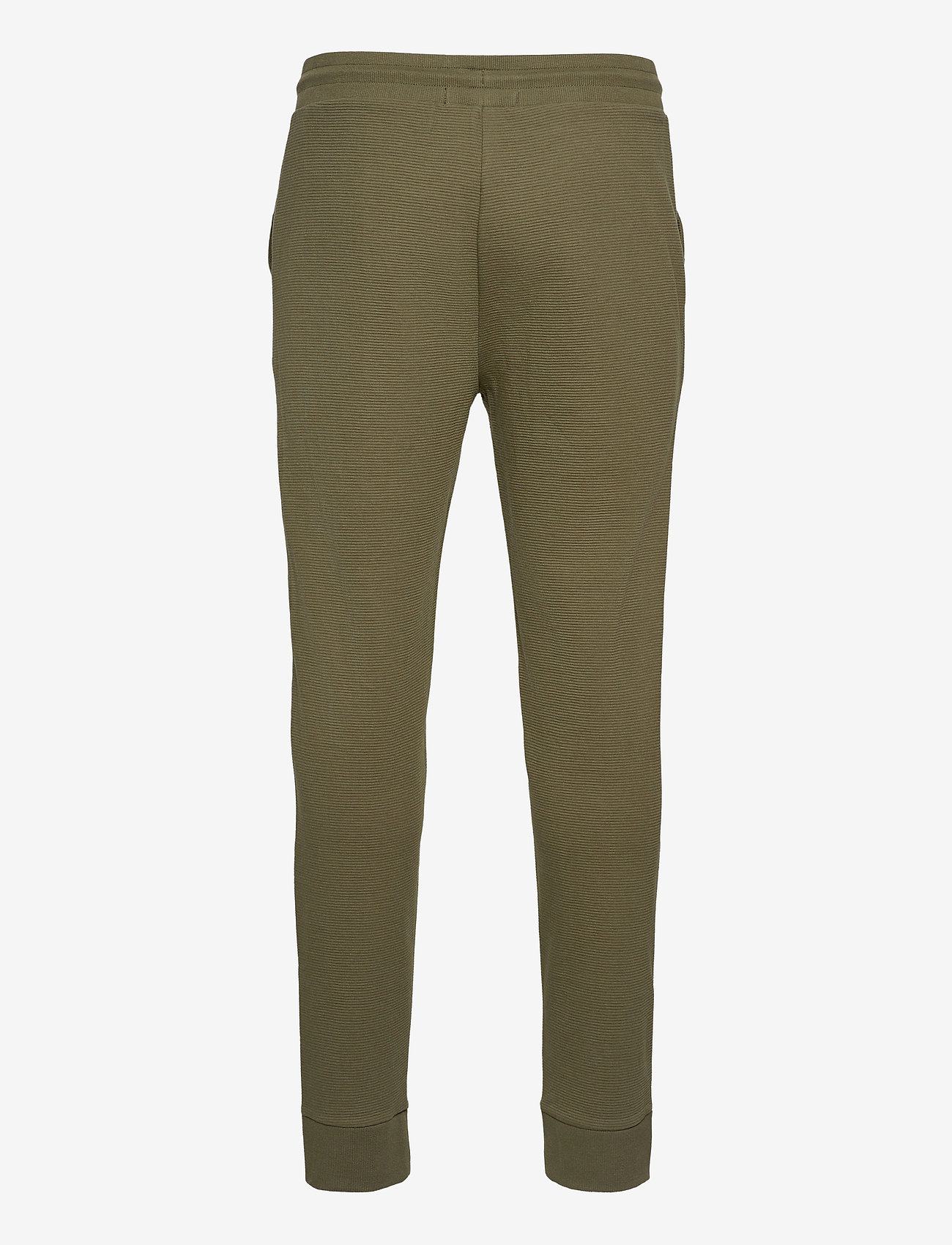 Tommy Hilfiger - TRACK PANT RIB - bottoms - army green - 1