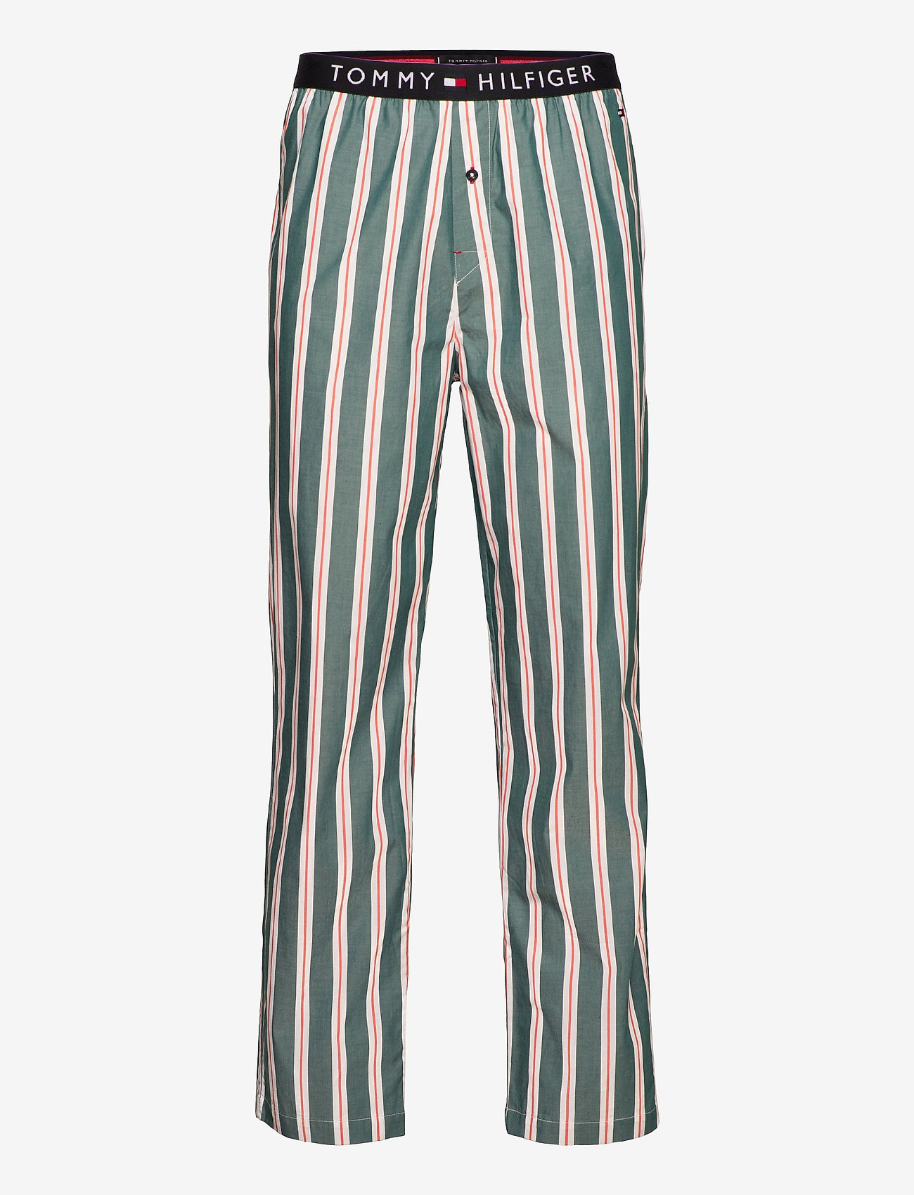 Tommy Hilfiger - WOVEN PANT PRINT - bottoms - heritage stripe - 0