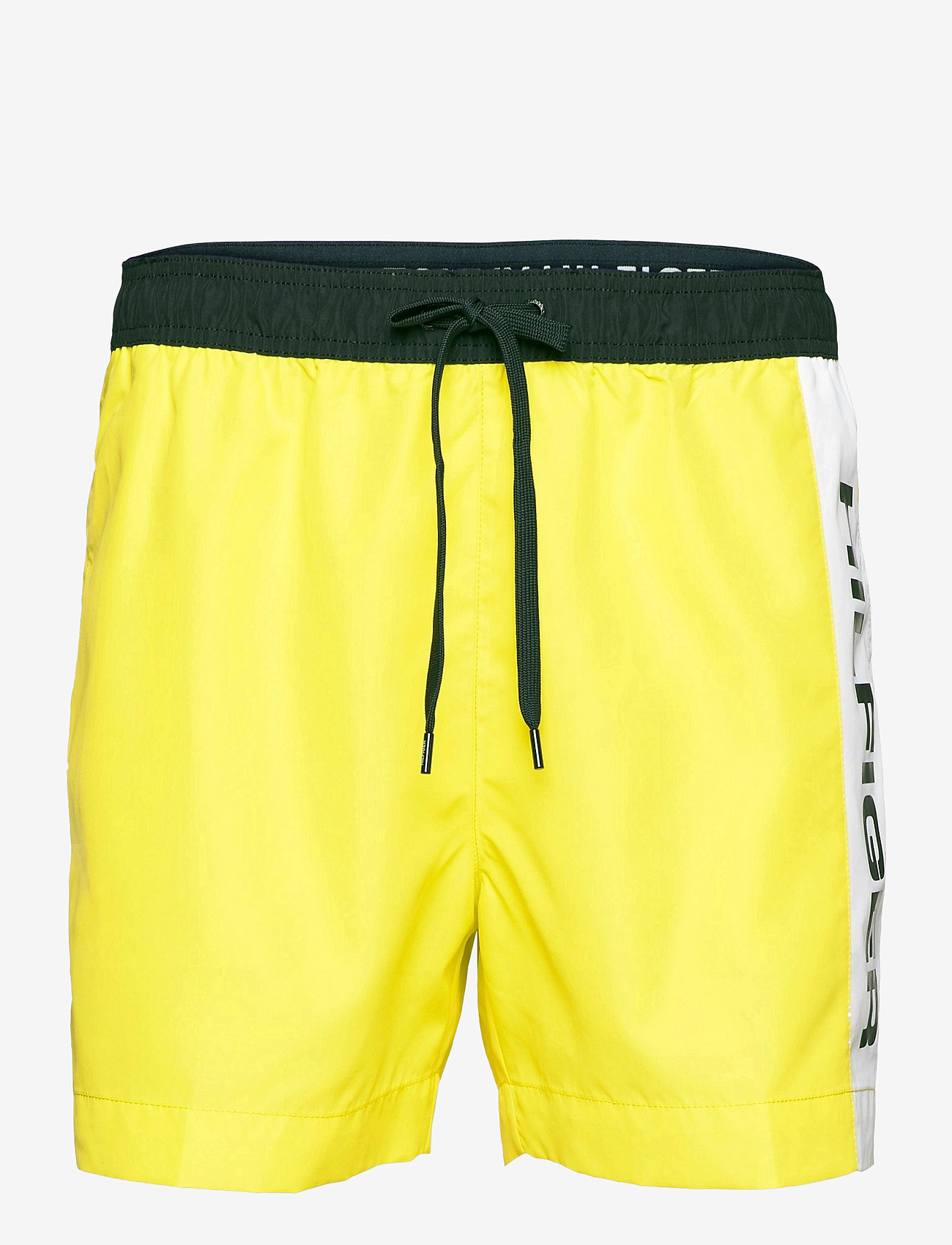 Tommy Hilfiger - MEDIUM DRAWSTRING - casual shorts - th neon yellow - 0