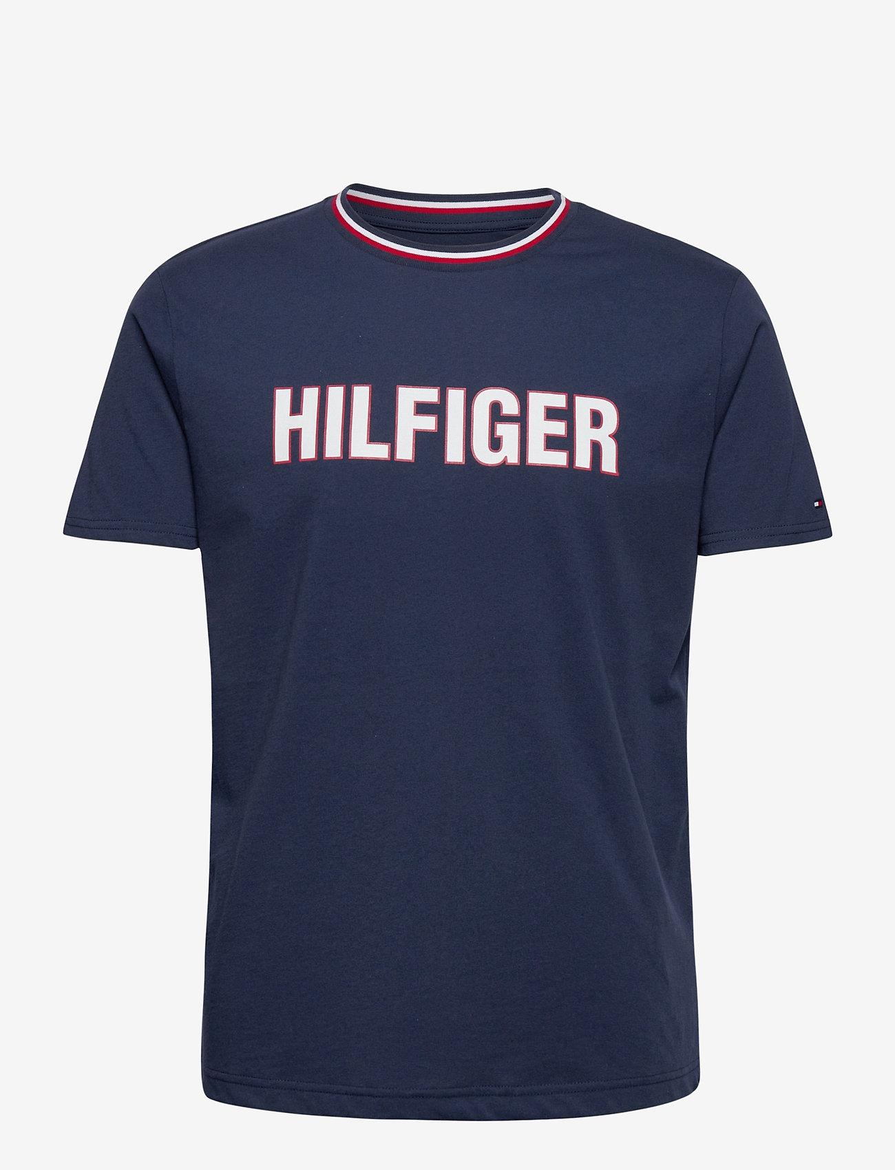 Tommy Hilfiger - CN SS TEE - short-sleeved t-shirts - desert sky - 0
