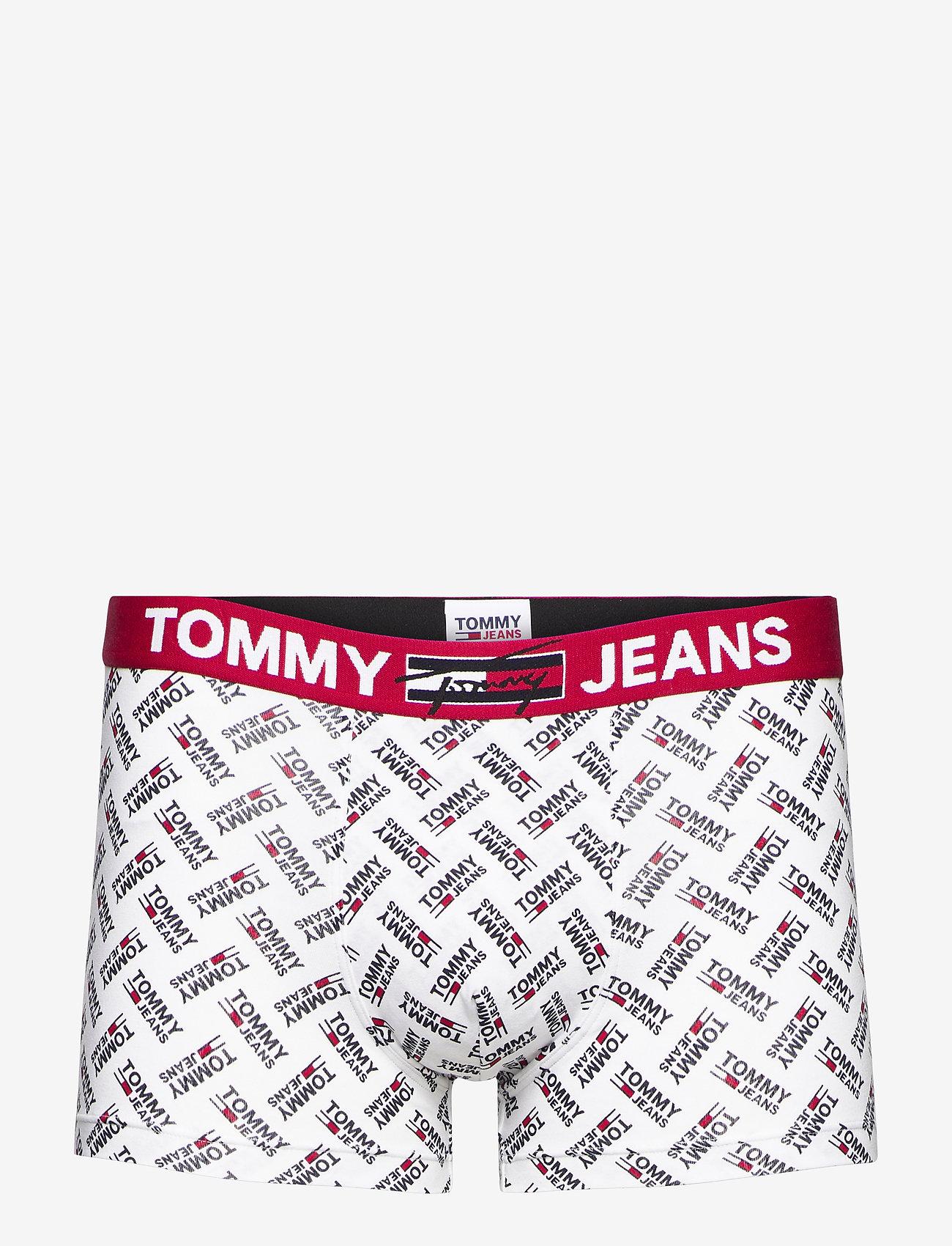 Tommy Hilfiger - TRUNK PRINT - caleçon - ag/tommyjeans/logo/white - 0