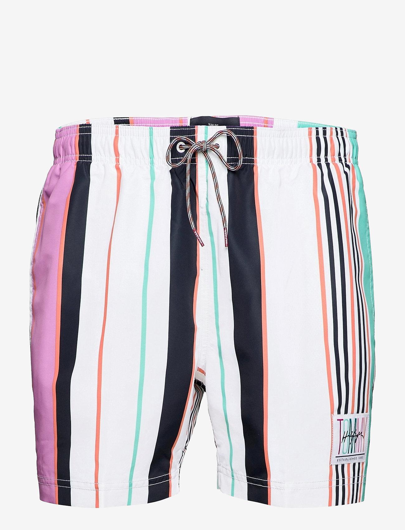 Tommy Hilfiger - SF MEDIUM DRAWSTRING - shorts de bain - multi stripe - 0