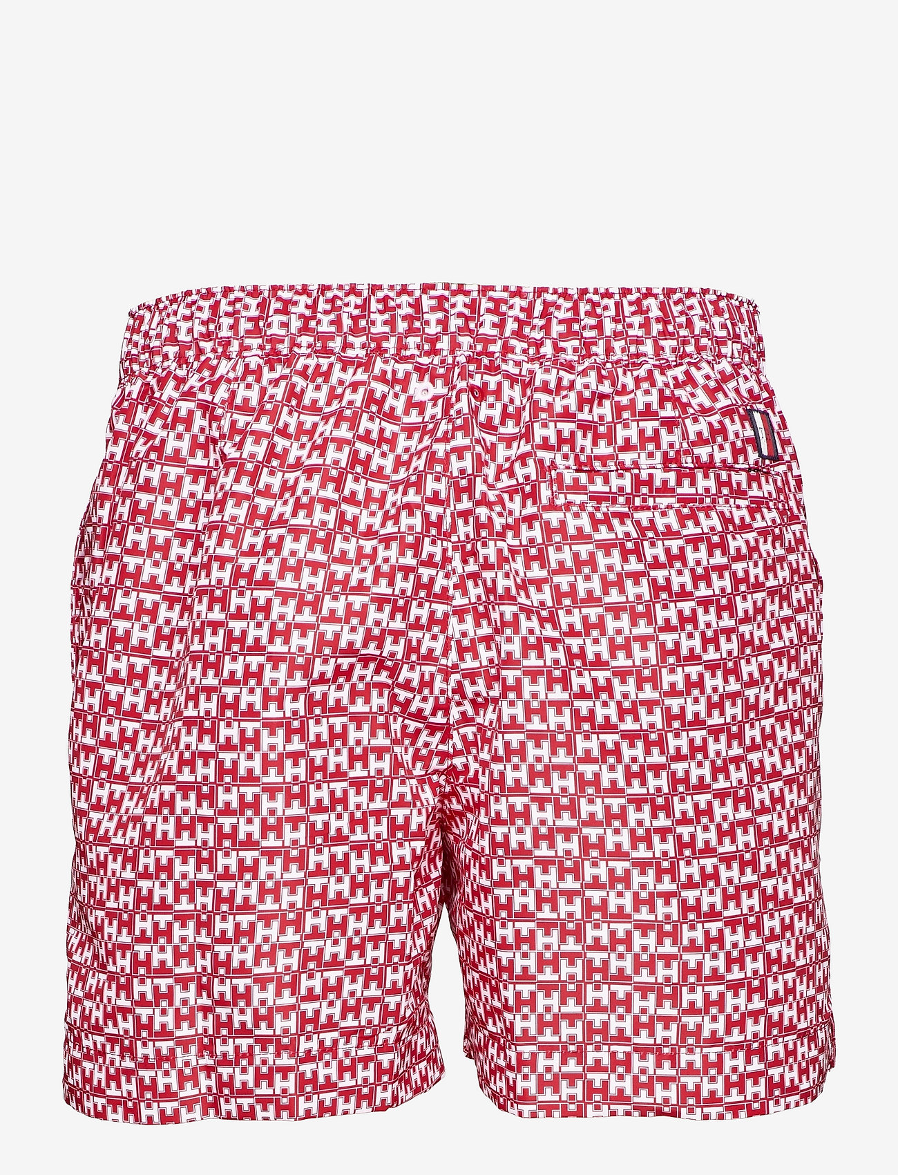 Tommy Hilfiger - MEDIUM DRAWSTRING-PRINT - shorts de bain - th mono geo red - 1