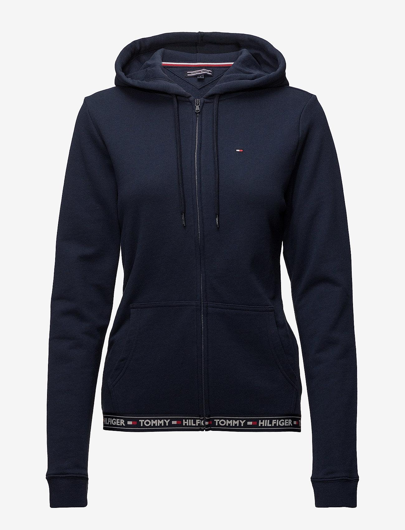 Tommy Hilfiger - HOODY HWK - bluzy z kapturem - navy blazer