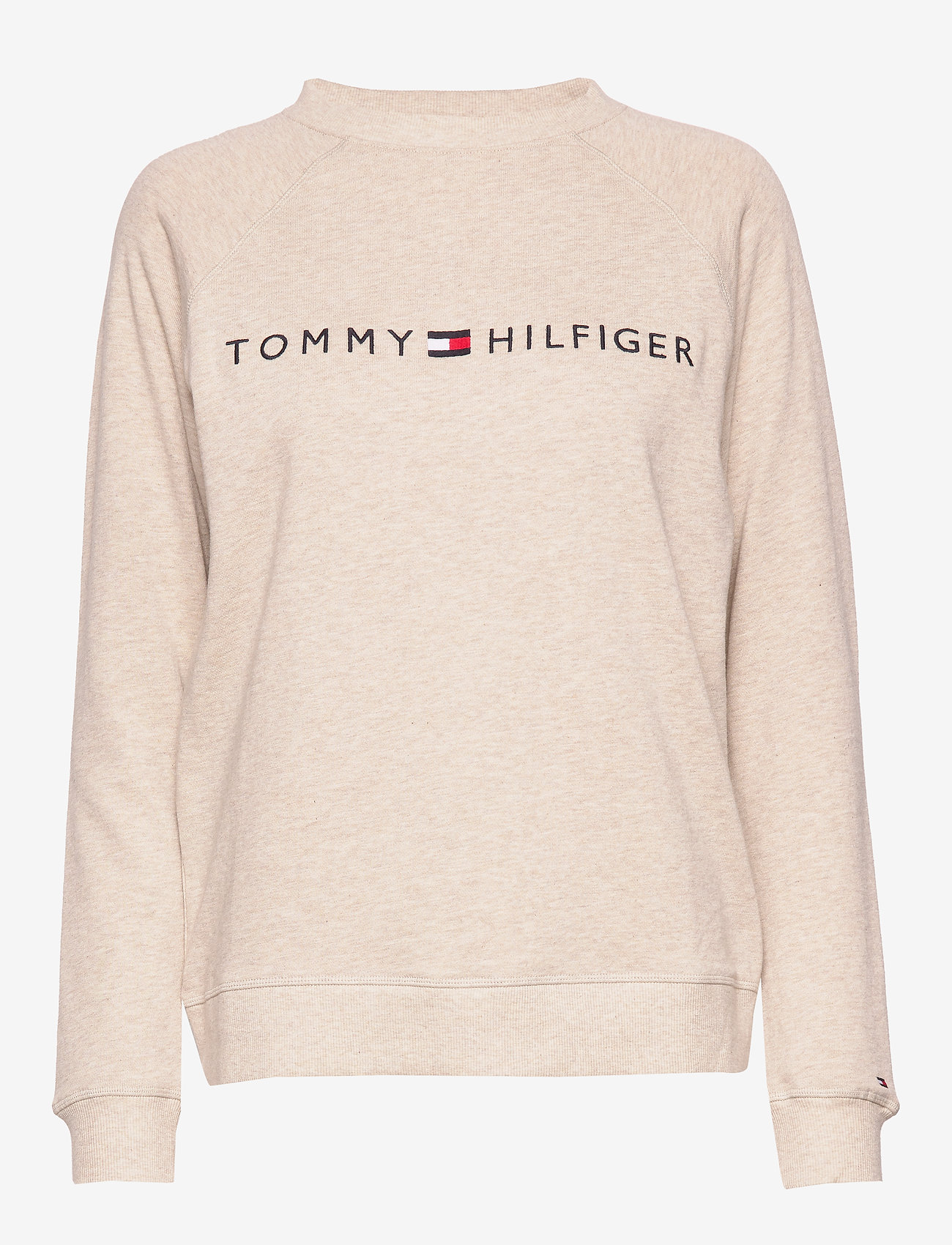 Tommy Hilfiger - CN TRACK TOP LS - oatmeal heather - 0