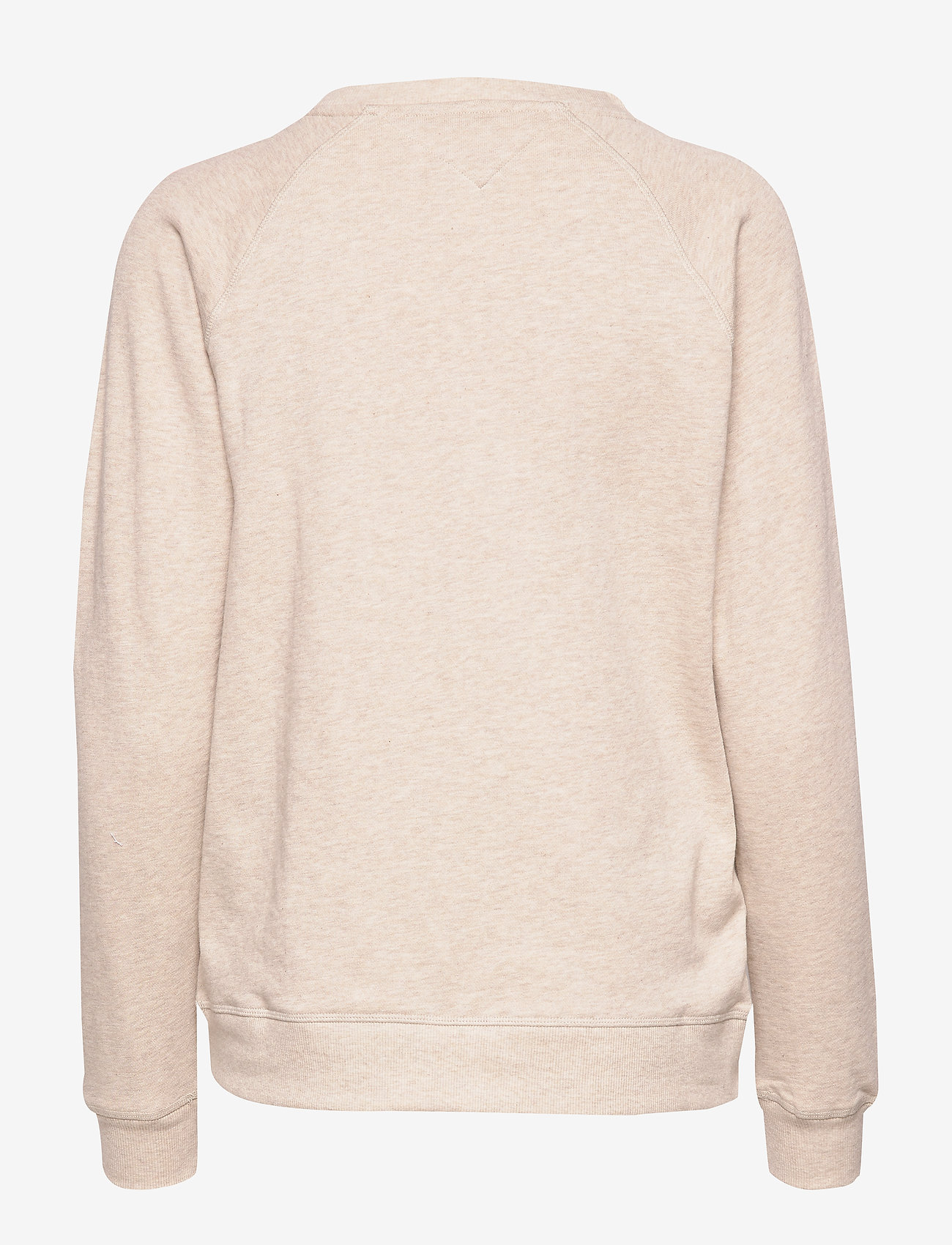 Tommy Hilfiger - CN TRACK TOP LS - oatmeal heather - 1