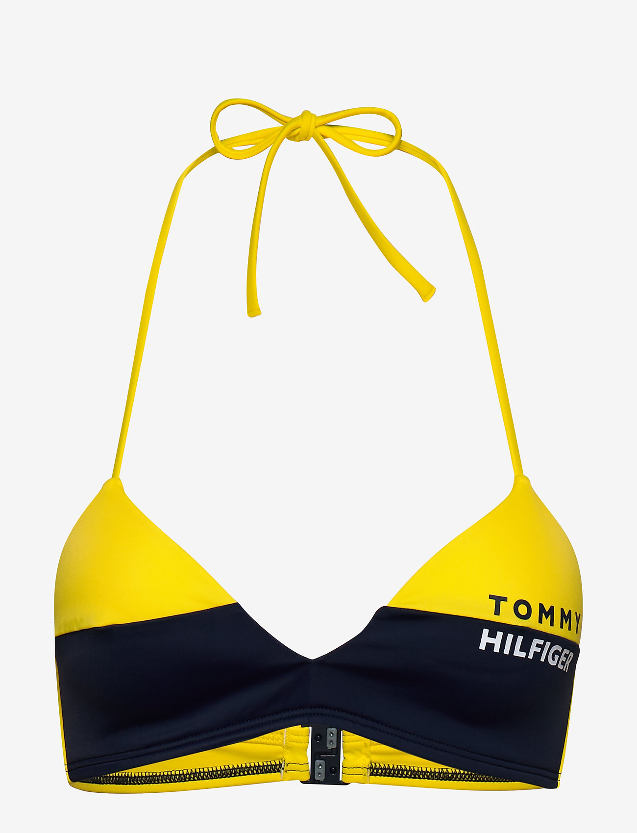 Tommy Hilfiger - FIXED TRIANGLE RP - bikini tops - bold yellow - 0