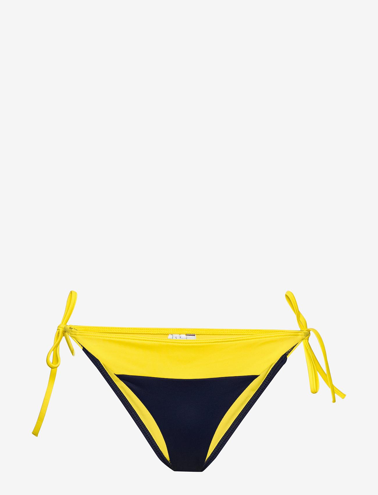 Tommy Hilfiger - CHEEKY STRING SIDE TIE BIKINI - bikini bottoms - bold yellow 215-480 - 0
