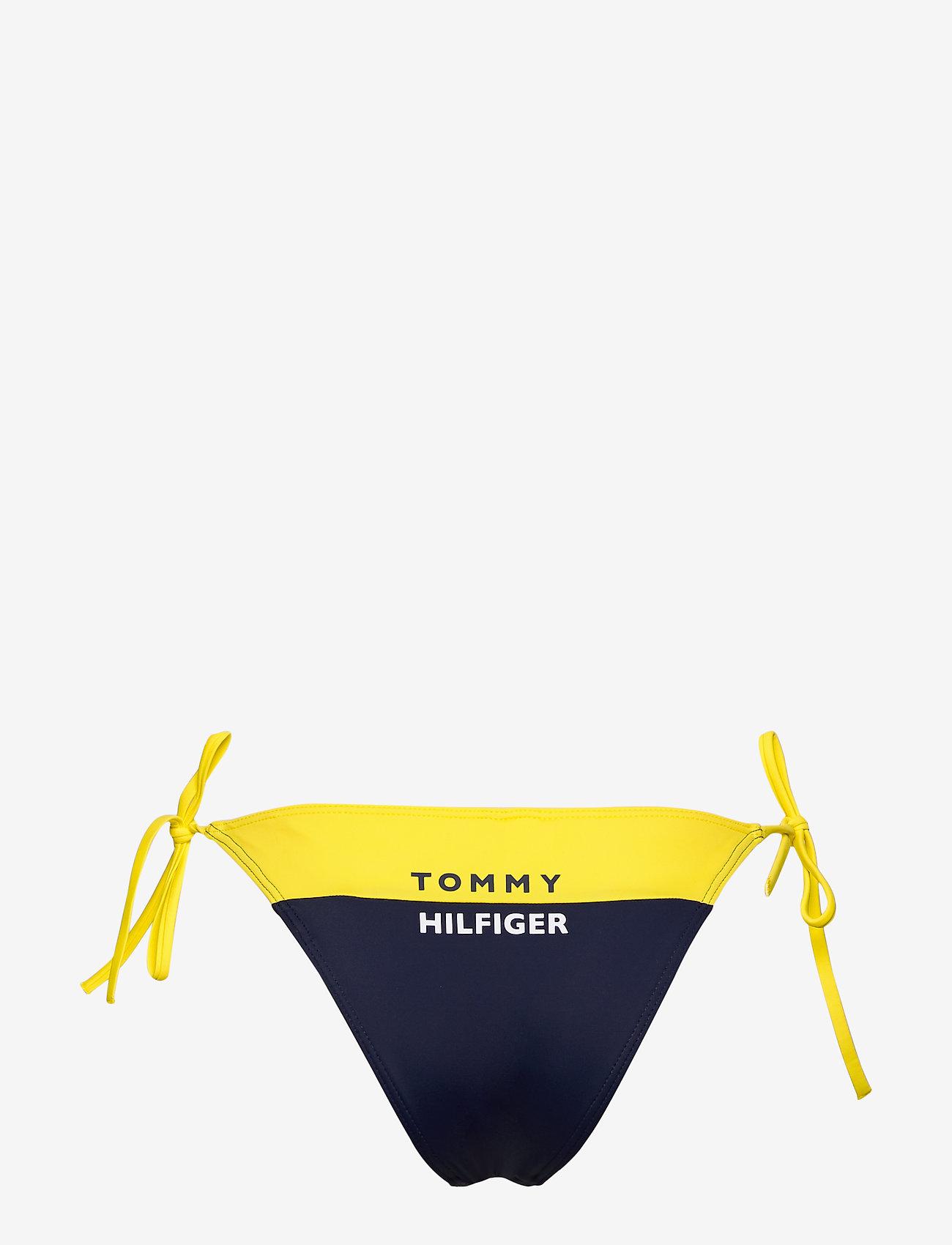 Tommy Hilfiger - CHEEKY STRING SIDE TIE BIKINI - bikini bottoms - bold yellow 215-480 - 1