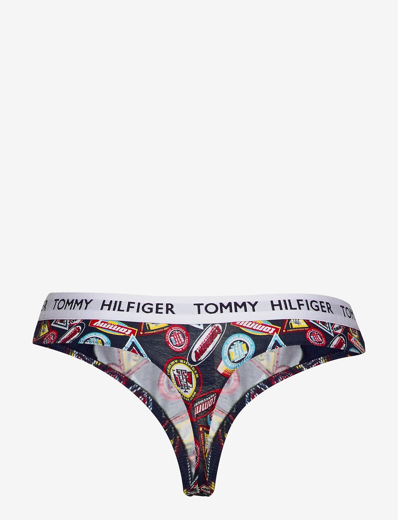 Tommy Hilfiger - THONG PRINT - string - wu_del1_smallheritage badges_n - 1