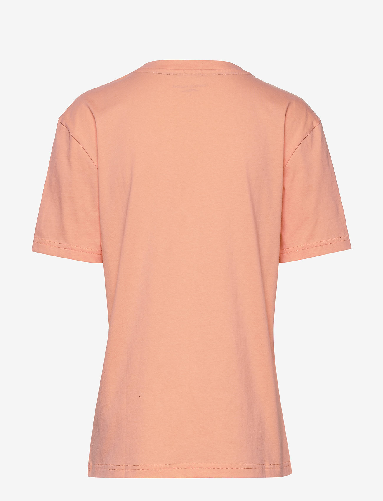 Tommy Hilfiger - CN TEE SS LOGO - overdele - papaya punch - 1