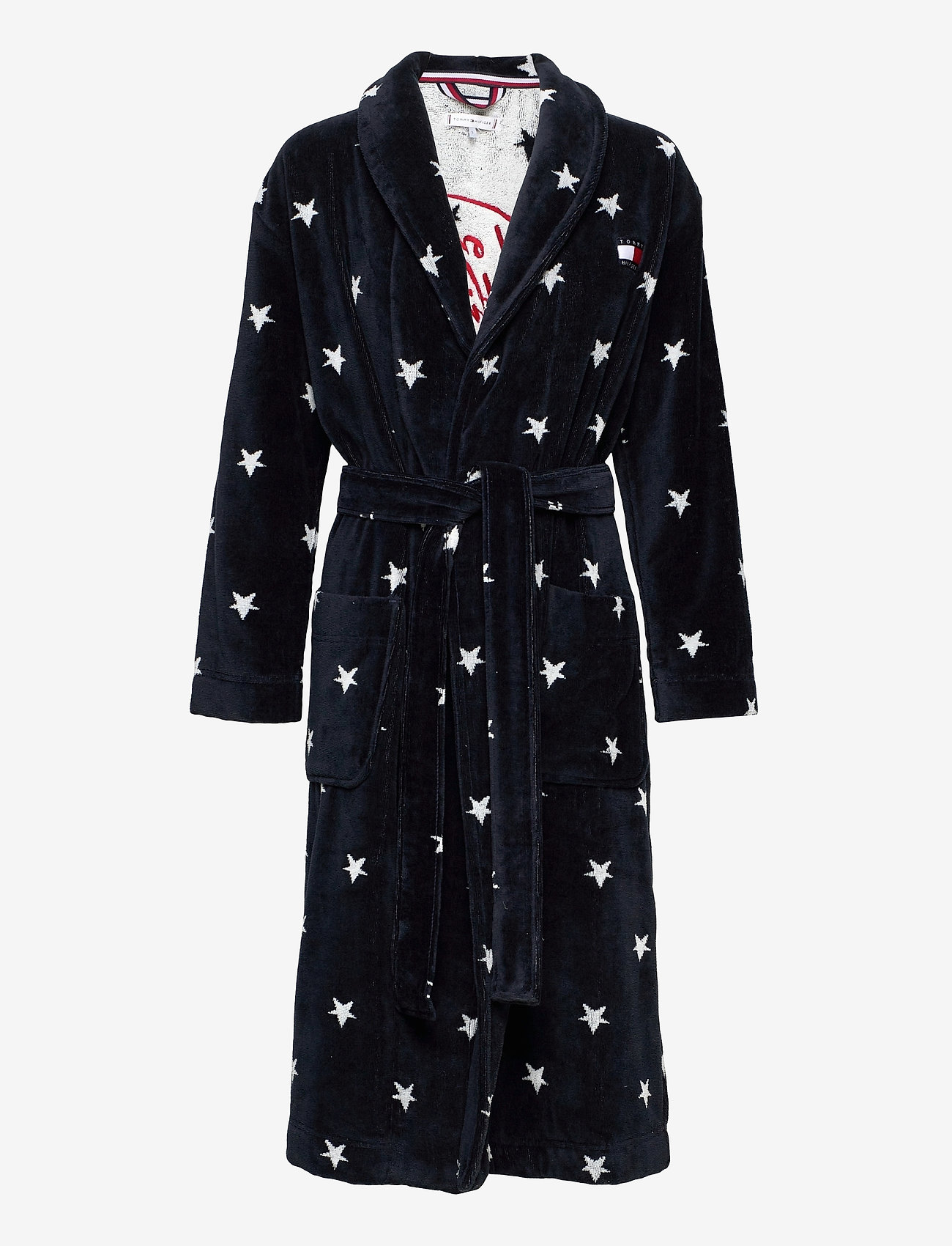 Tommy Hilfiger - TOWELLING ROBE STARS - pegnoirs - desert sky - 0