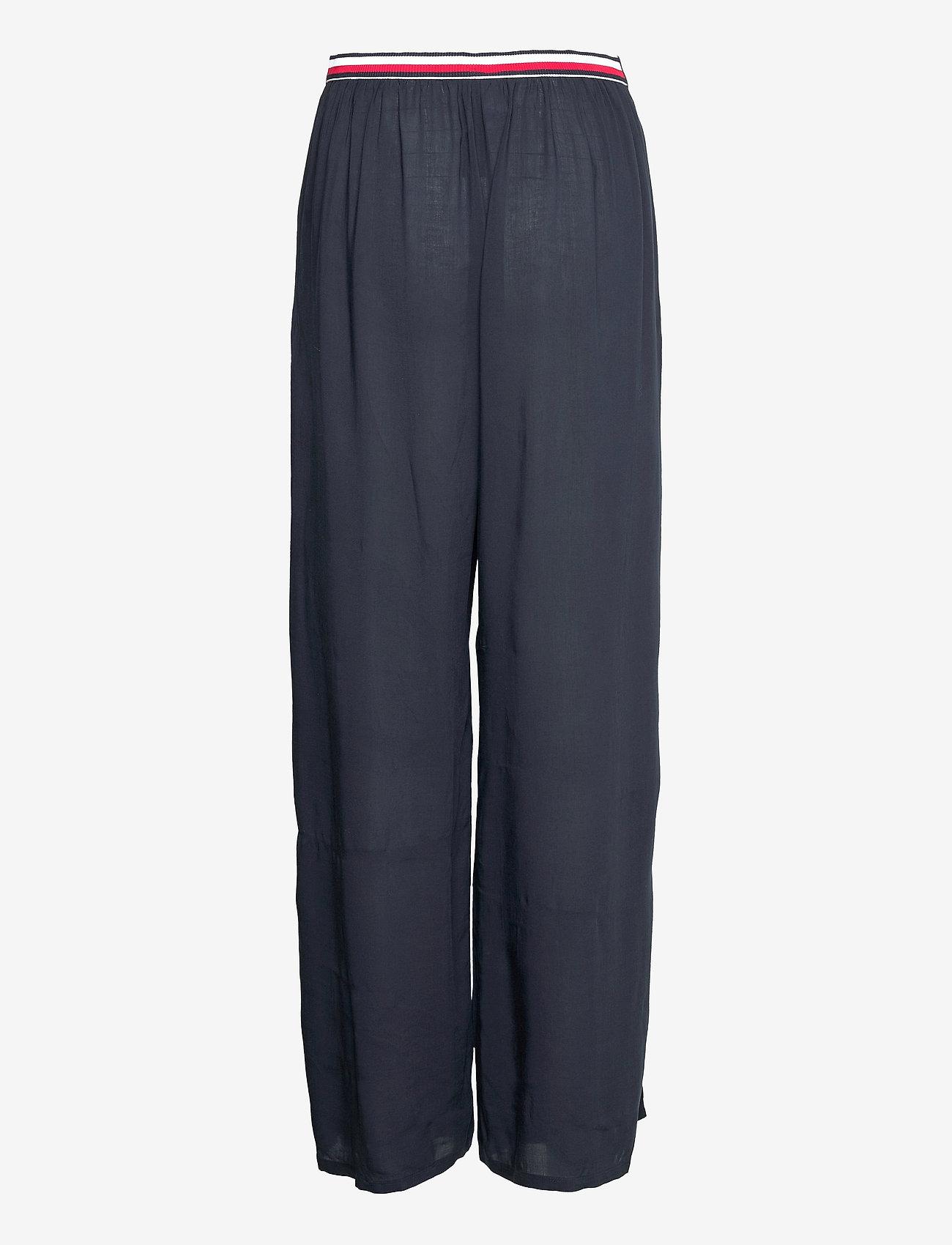 Tommy Hilfiger - LONG PANTS - bukser med brede ben - desert sky - 1