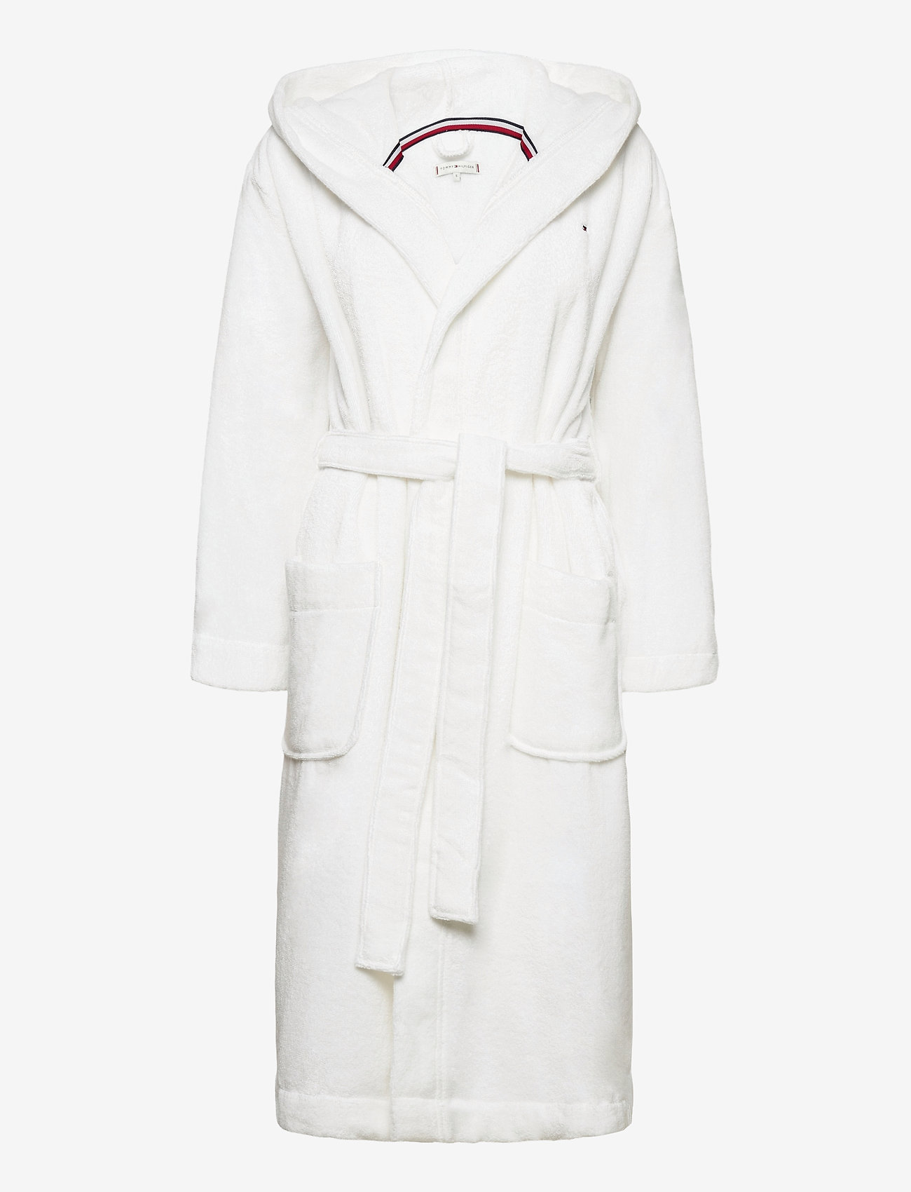 Tommy Hilfiger - HOODED BATHROBE - pegnoirs - classic white - 0