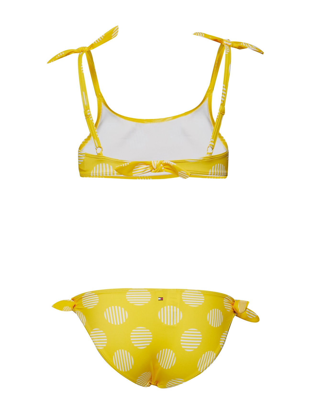 64be7e4b LOGO POLKADOT KIDS EMPIRE YELL Tommy Hilfiger Bralette Set bikinier ...