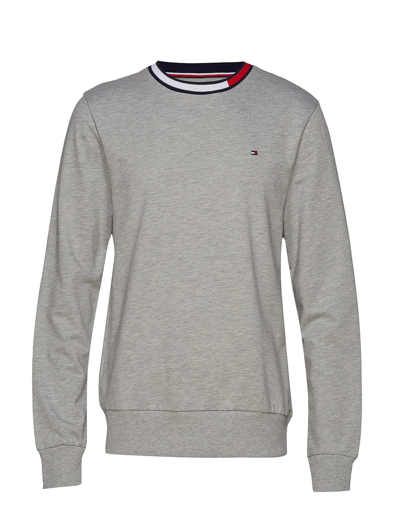 Tommy Hilfiger TRACK TOP LS HWK - GREY HEATHER