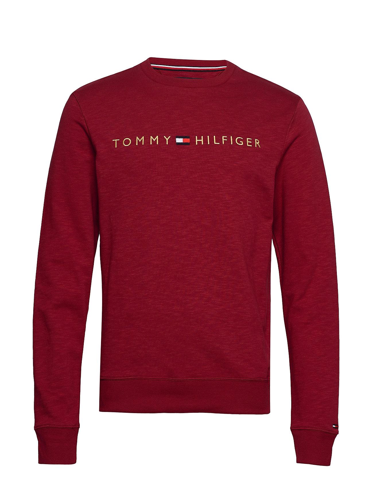 Tommy Hilfiger TRACK TOP LS HWK - RHUBARB