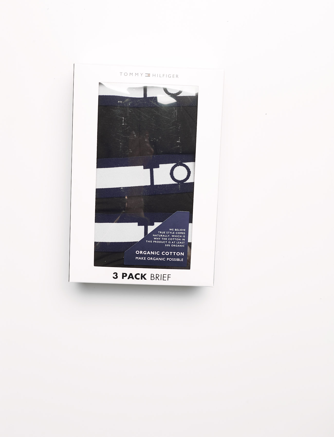 Tommy Hilfiger - 3P BRIEF - sous-vêtements - pvhblack/pvhblack/pvhblack - 2