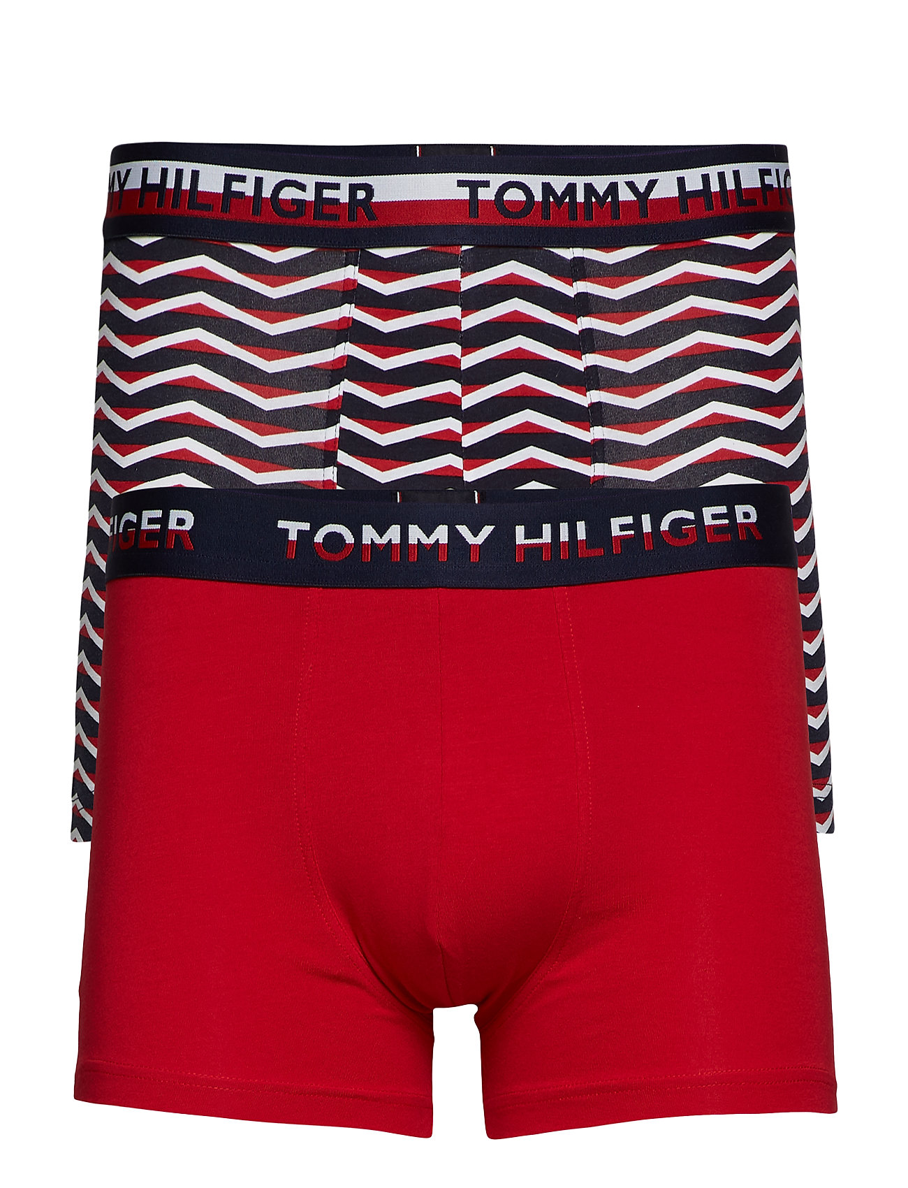 Image of 2p Trunk Print Boxershorts Rød Tommy Hilfiger (3452137001)