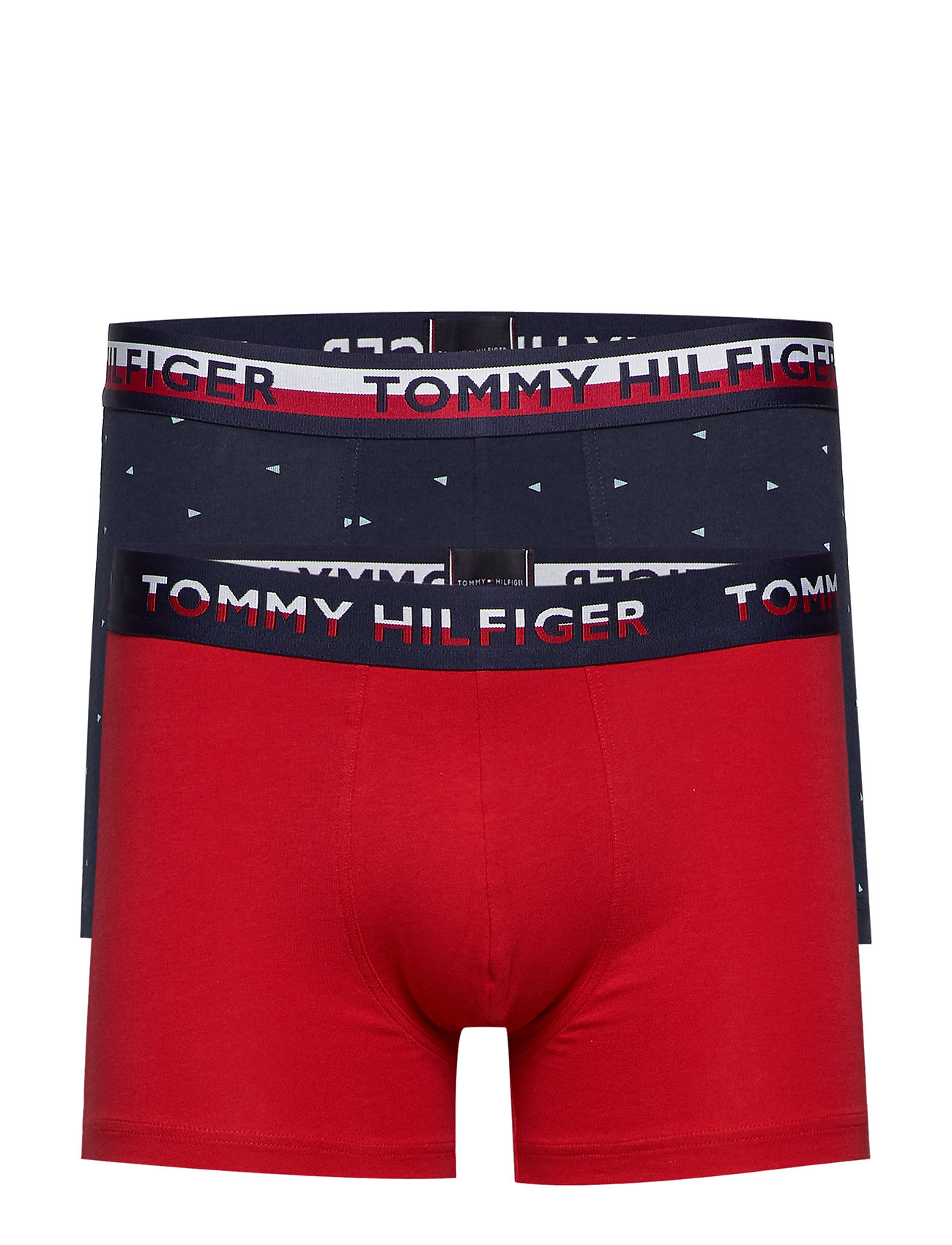 Image of 2p Trunk Print Boxershorts Rød Tommy Hilfiger (3361420507)