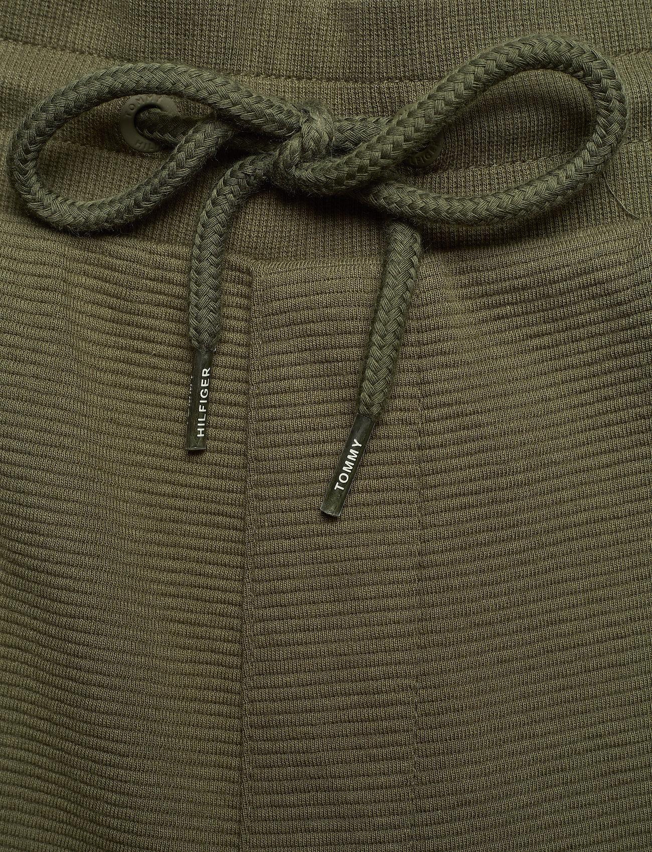 Tommy Hilfiger - TRACK PANT RIB - kleding - army green - 4