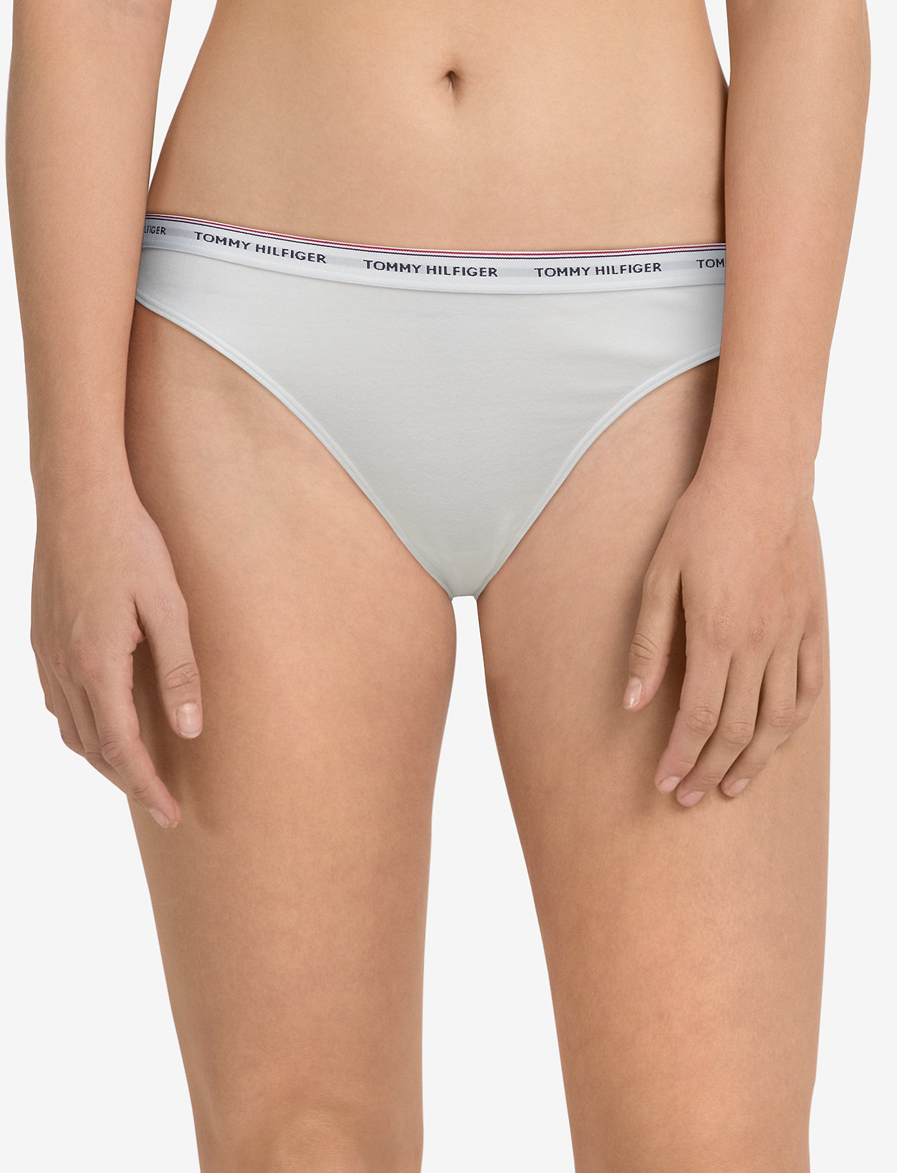 tommy hilfiger white thong