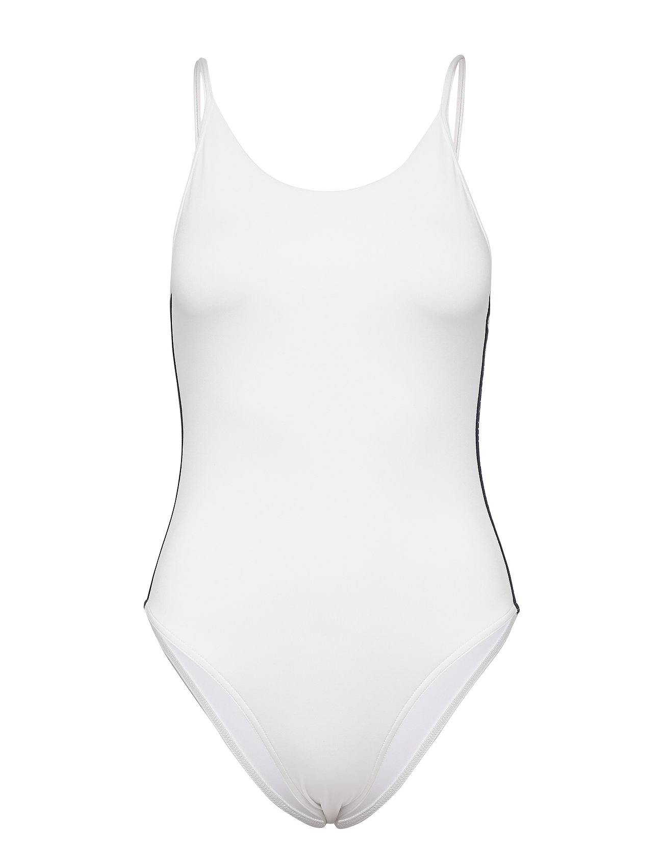 Tommy Hilfiger CHEEKY ONE-PIECE - SNOW WHITE