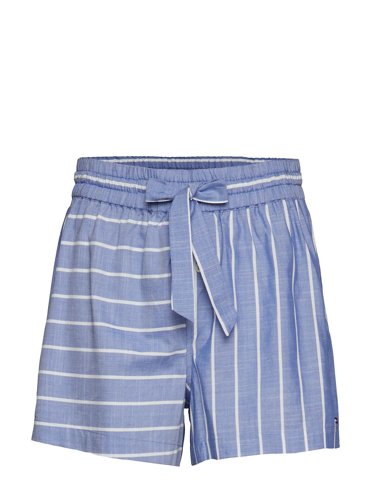 Tommy Hilfiger SHORT STRIPE - GRAY DAWN